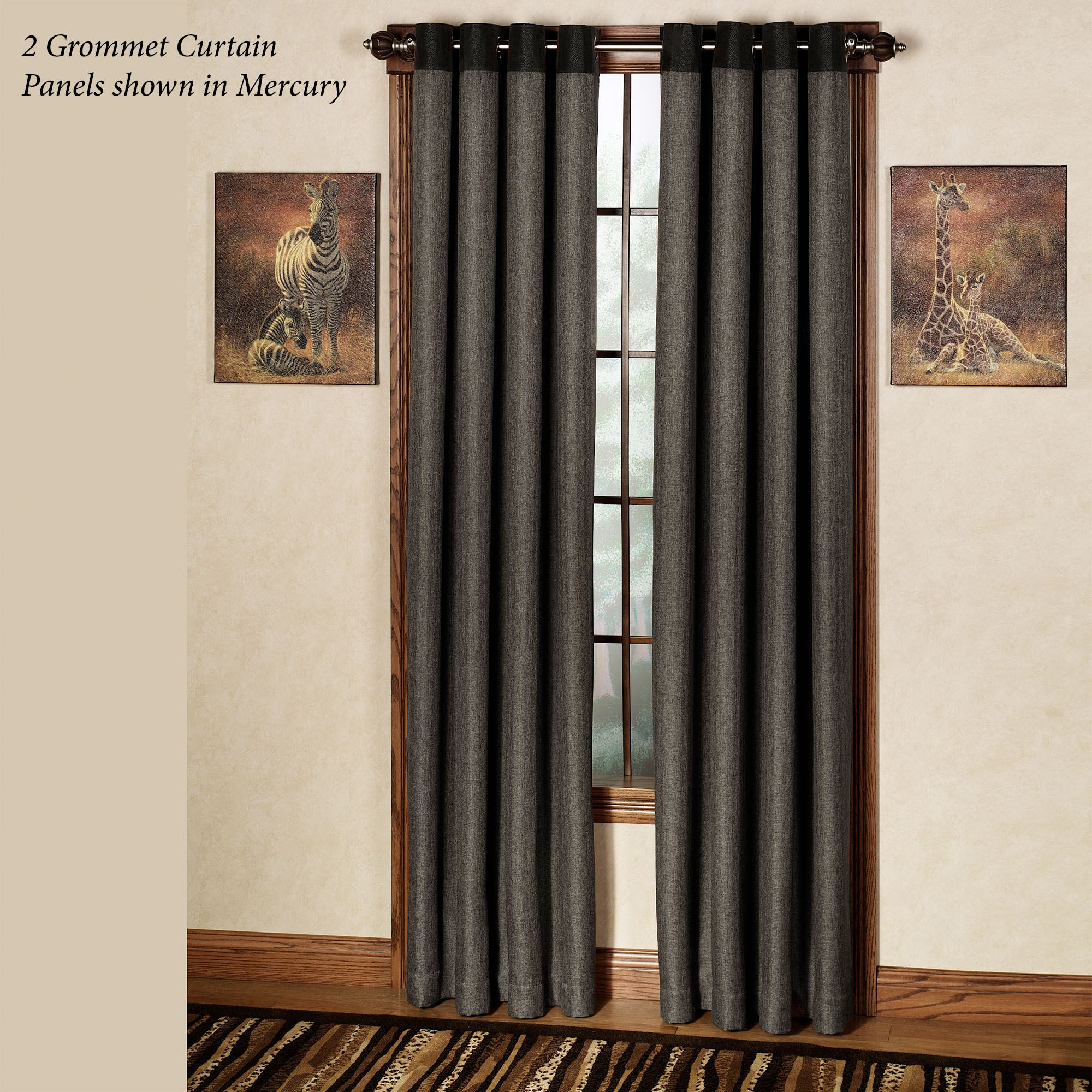 Harrison Grommet Curtain Panel