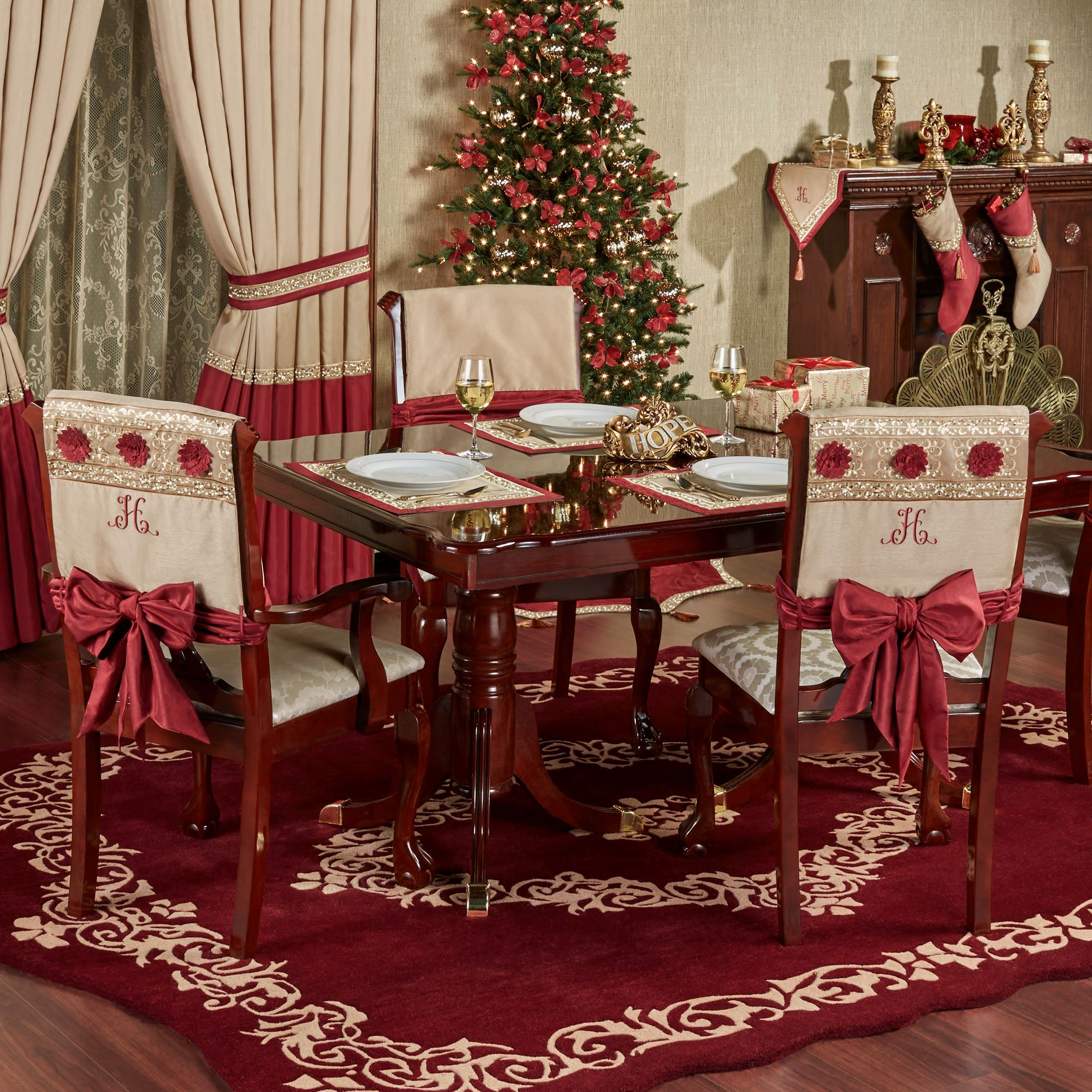 Christmas Chair Cover