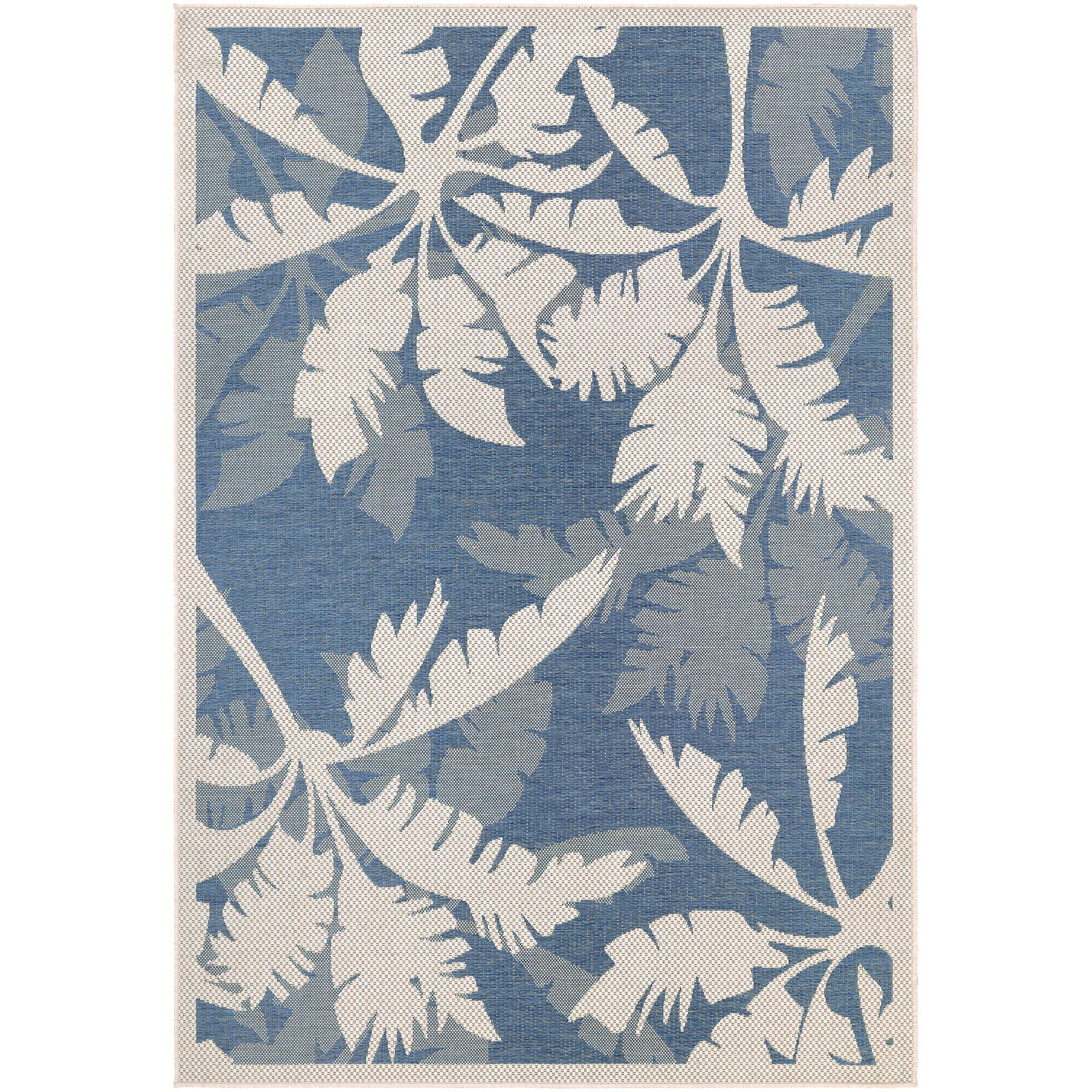 Tropical Palm Tree Indoor Outdoor Rugs