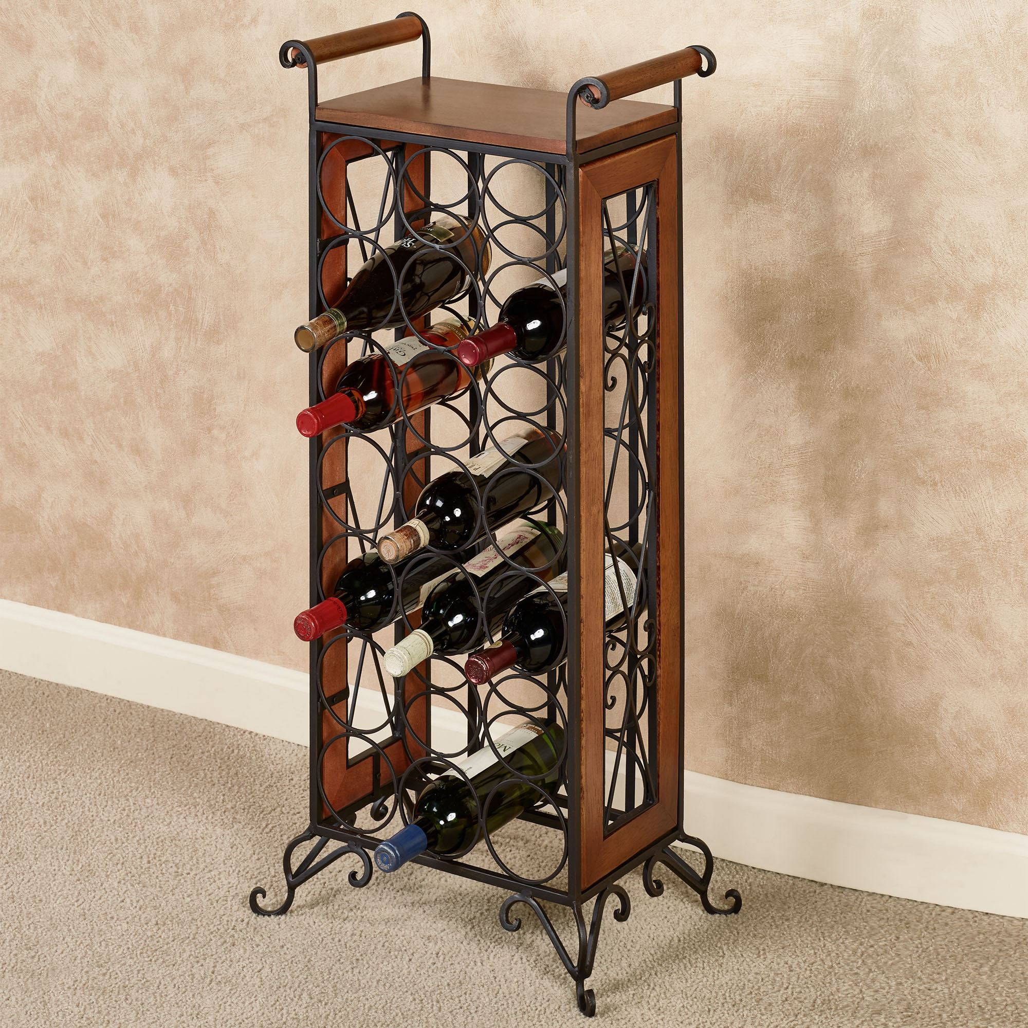 Uncategorized Floor Standing Wine Racks milano floor standing wine bottle rack windsor oak click to expand