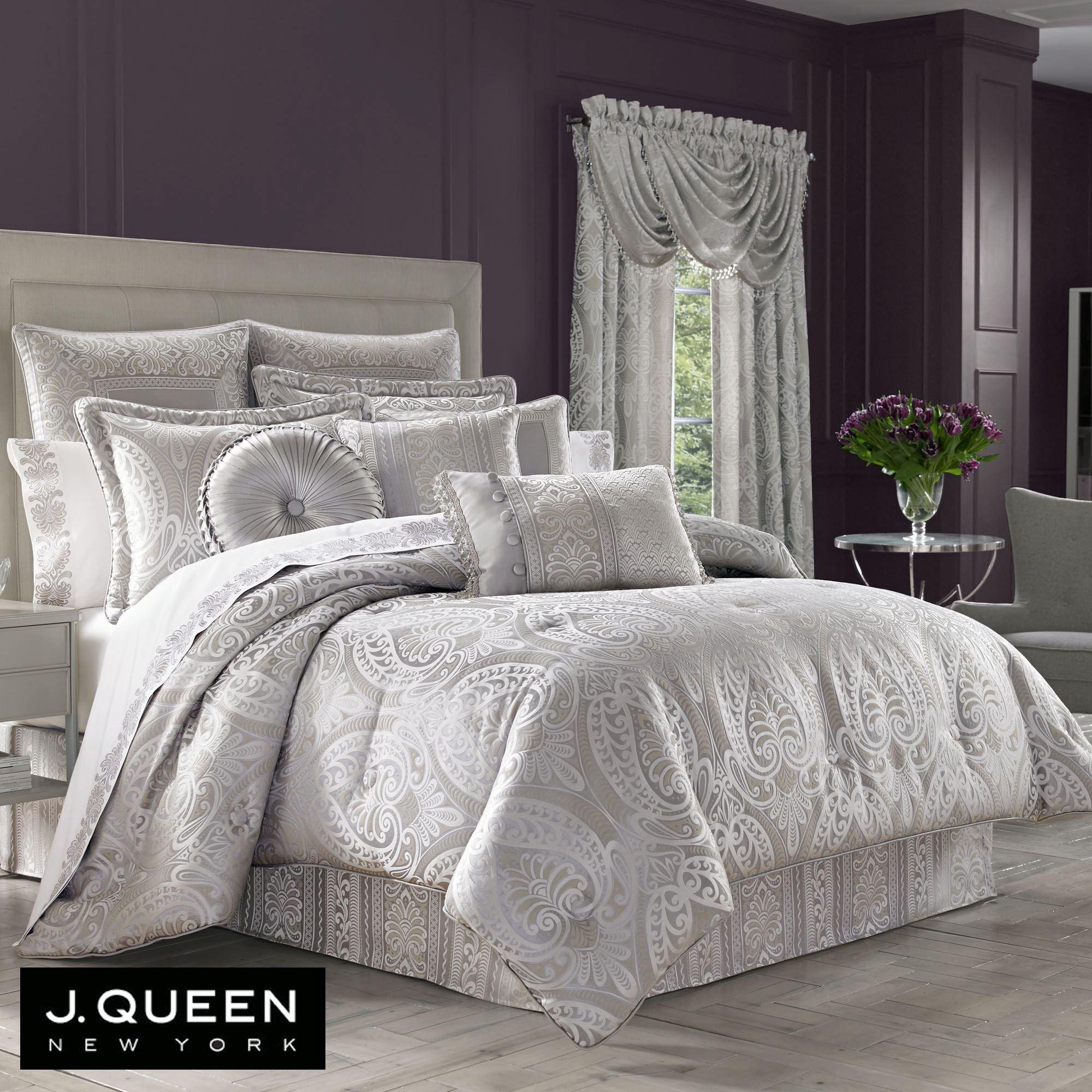 the of pleasure silver set chic comforter
