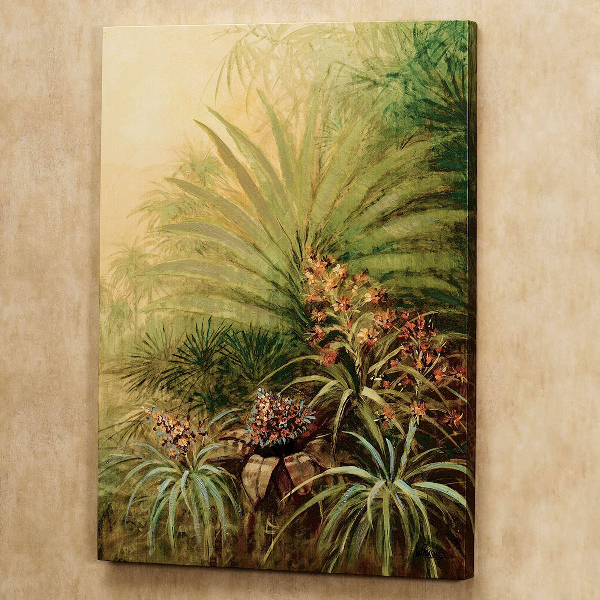 Tropical Haven Canvas Art Set