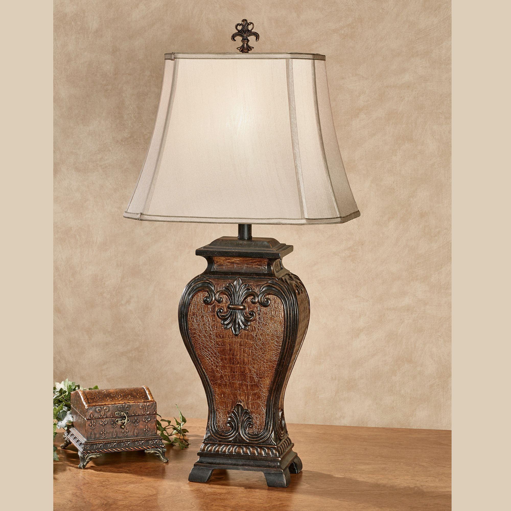 Good Cordelia Fleur De Lis Textured Table Lamp. Cordelia Table Lamp Bronze.  Click To Expand