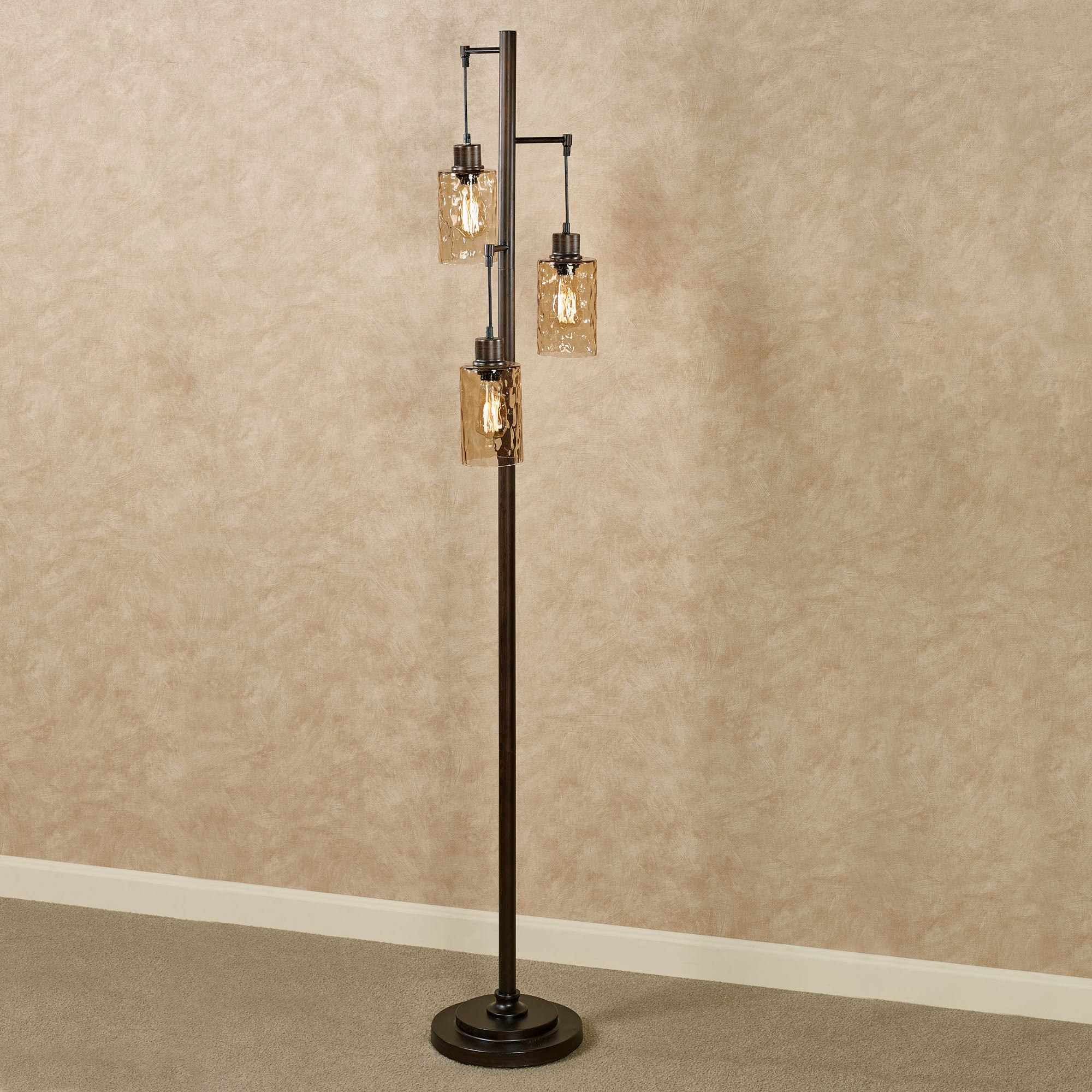 Marvelous ... Edison Bulbs. Thomas Floor Lamp Bronze. Click To Expand