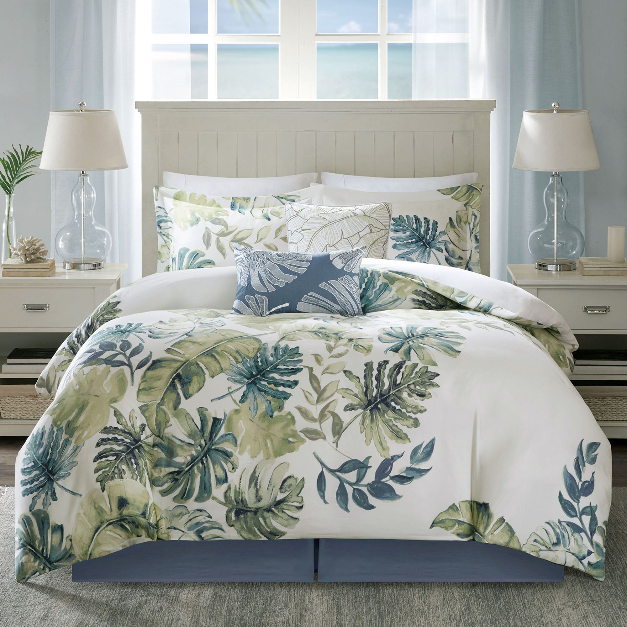 Lorelai Tropical 6 Pc Comforter Bed Set By Harbor House