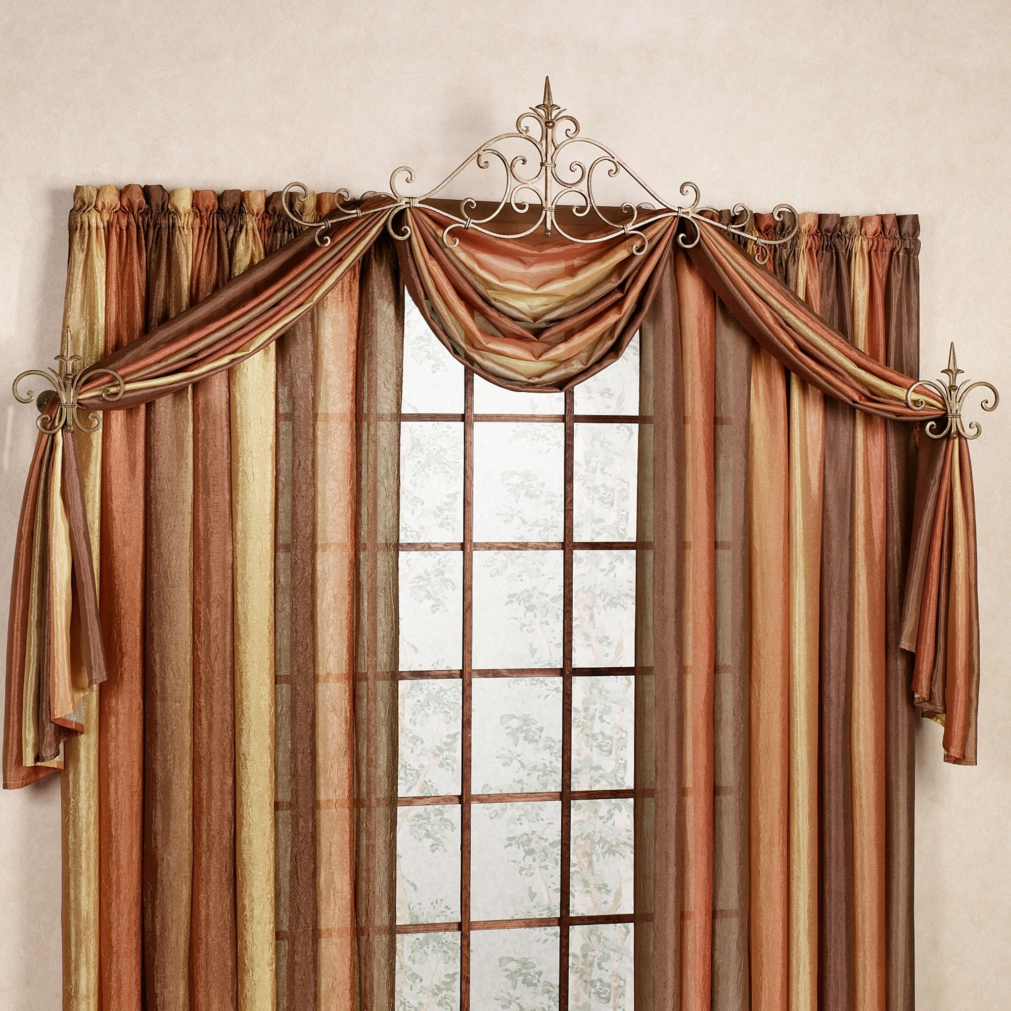 Click to expand & Sabelle Drapery Hardware Accent Set