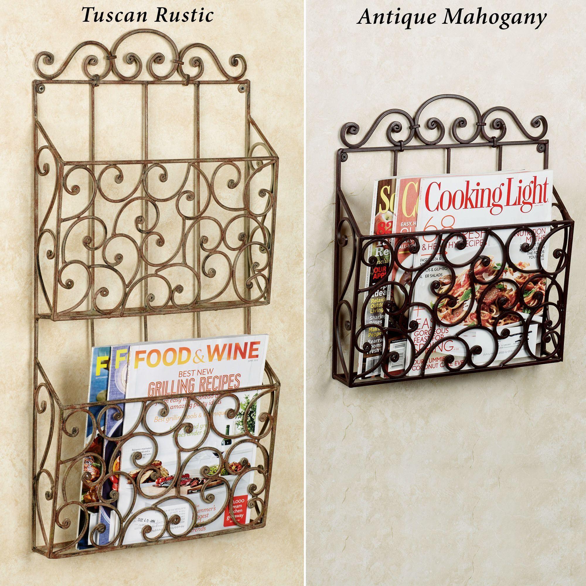 lavinia wall magazine rack click to expand - Wall Magazine Rack