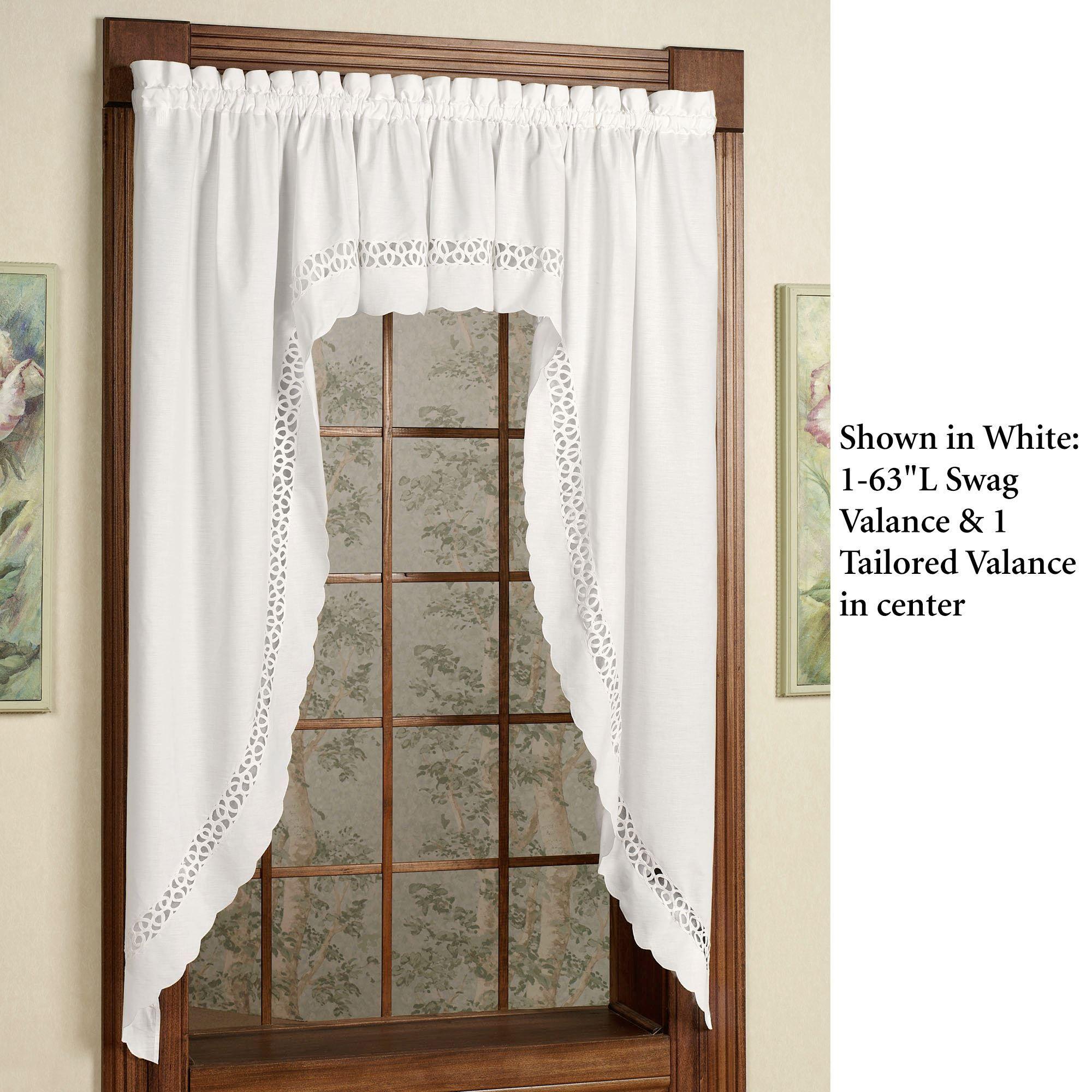 hellina swag valance. Black Bedroom Furniture Sets. Home Design Ideas