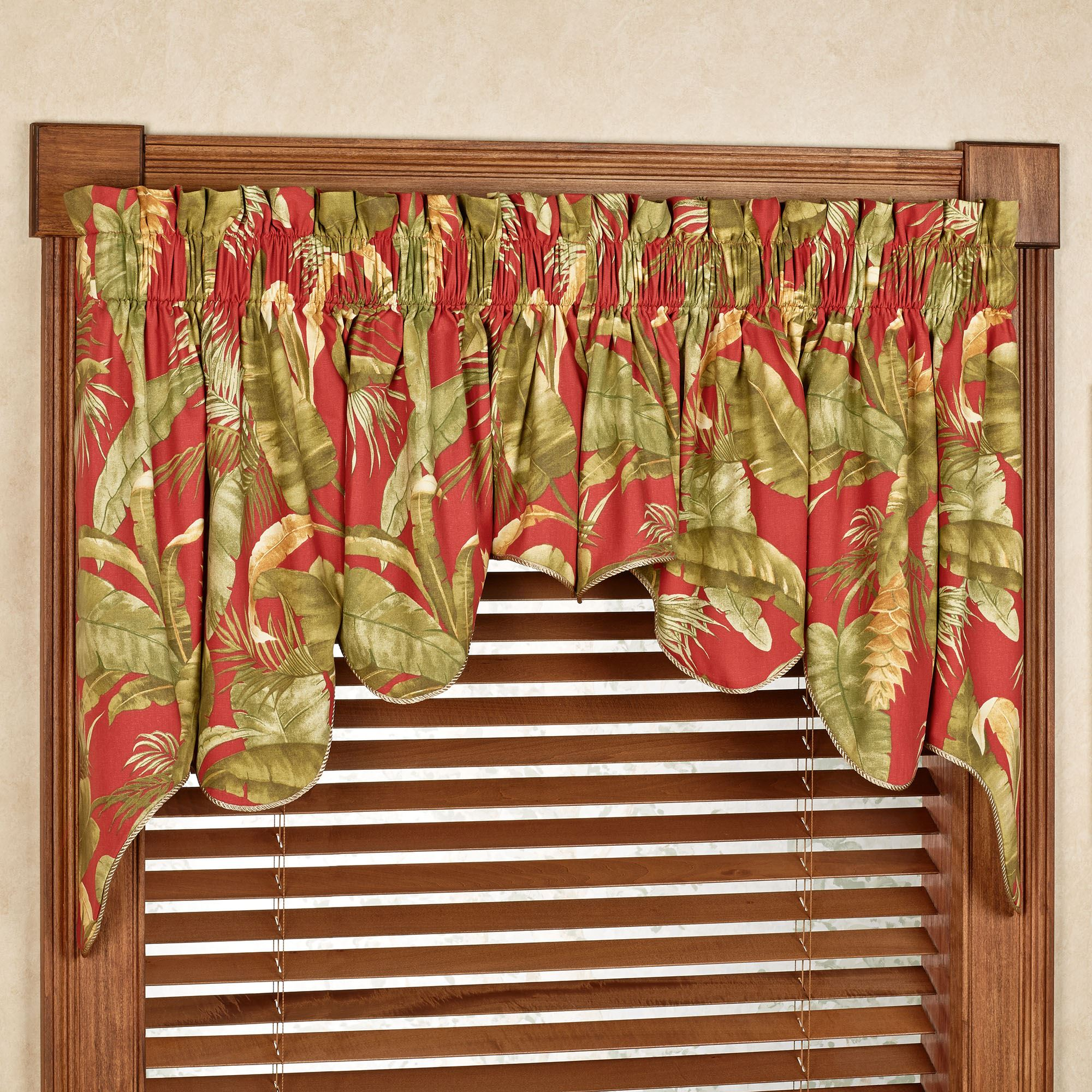 marvelous valance and curtains swag room swags brown for valances living