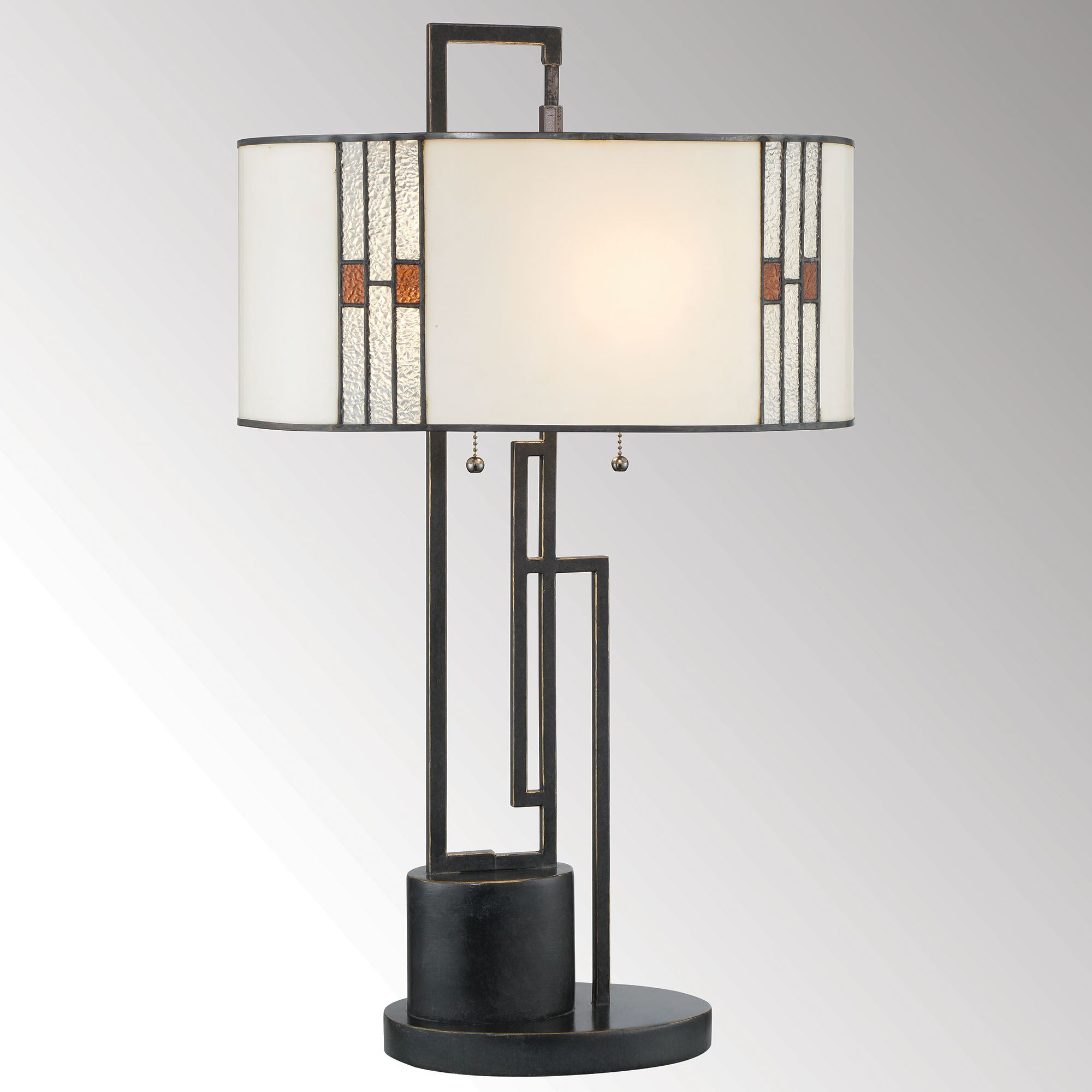 Blois Geometric Metal Table Lamp With