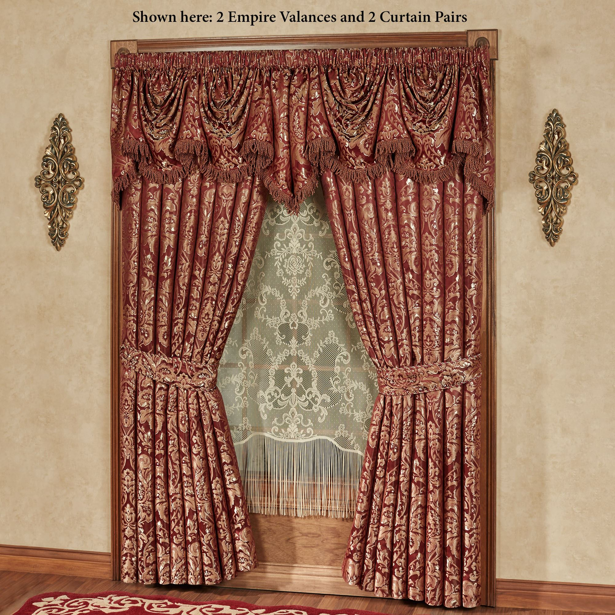 Lace Curtains And How To Clean Them Properly Touch to zoom