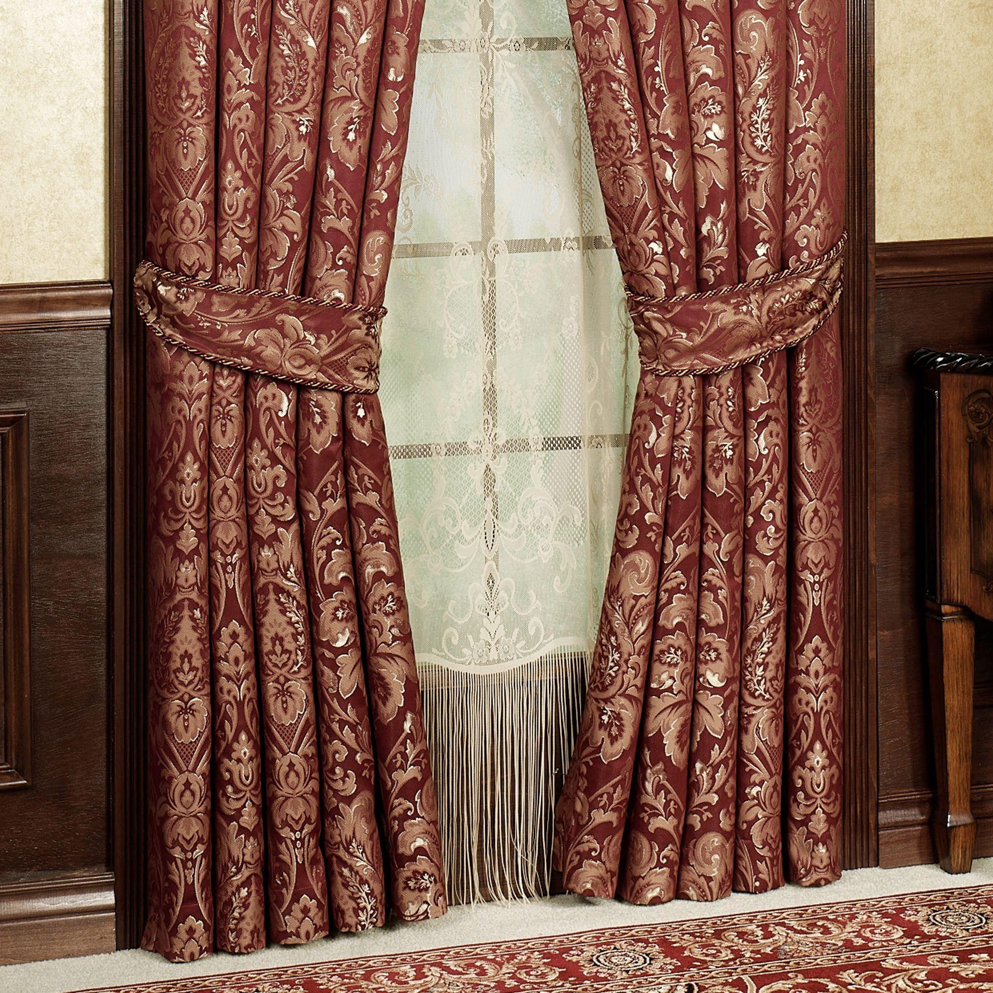 Palatial Empire Valance Window Treatment