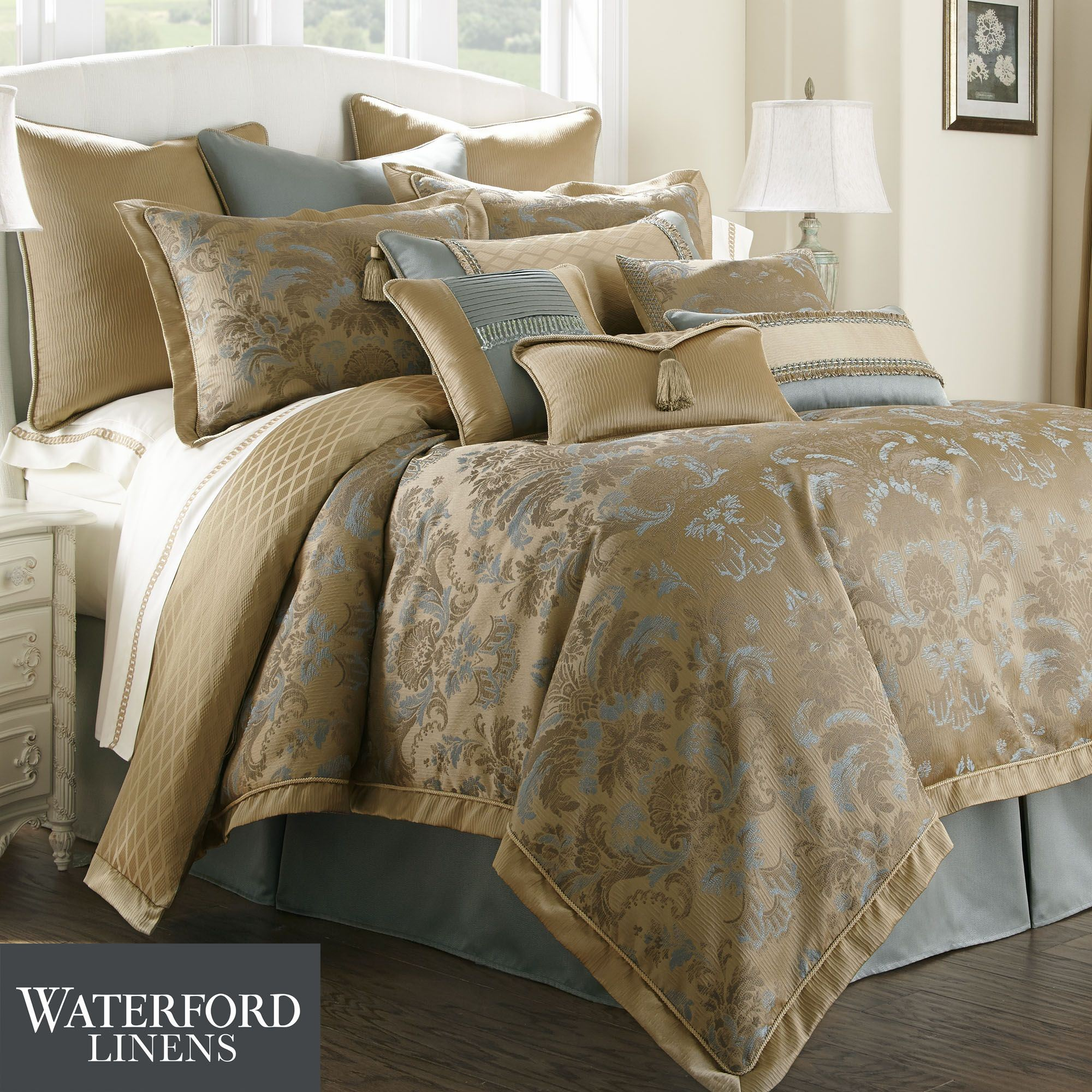 york new bedding set j by damask pin comforter melbourne waterford queen