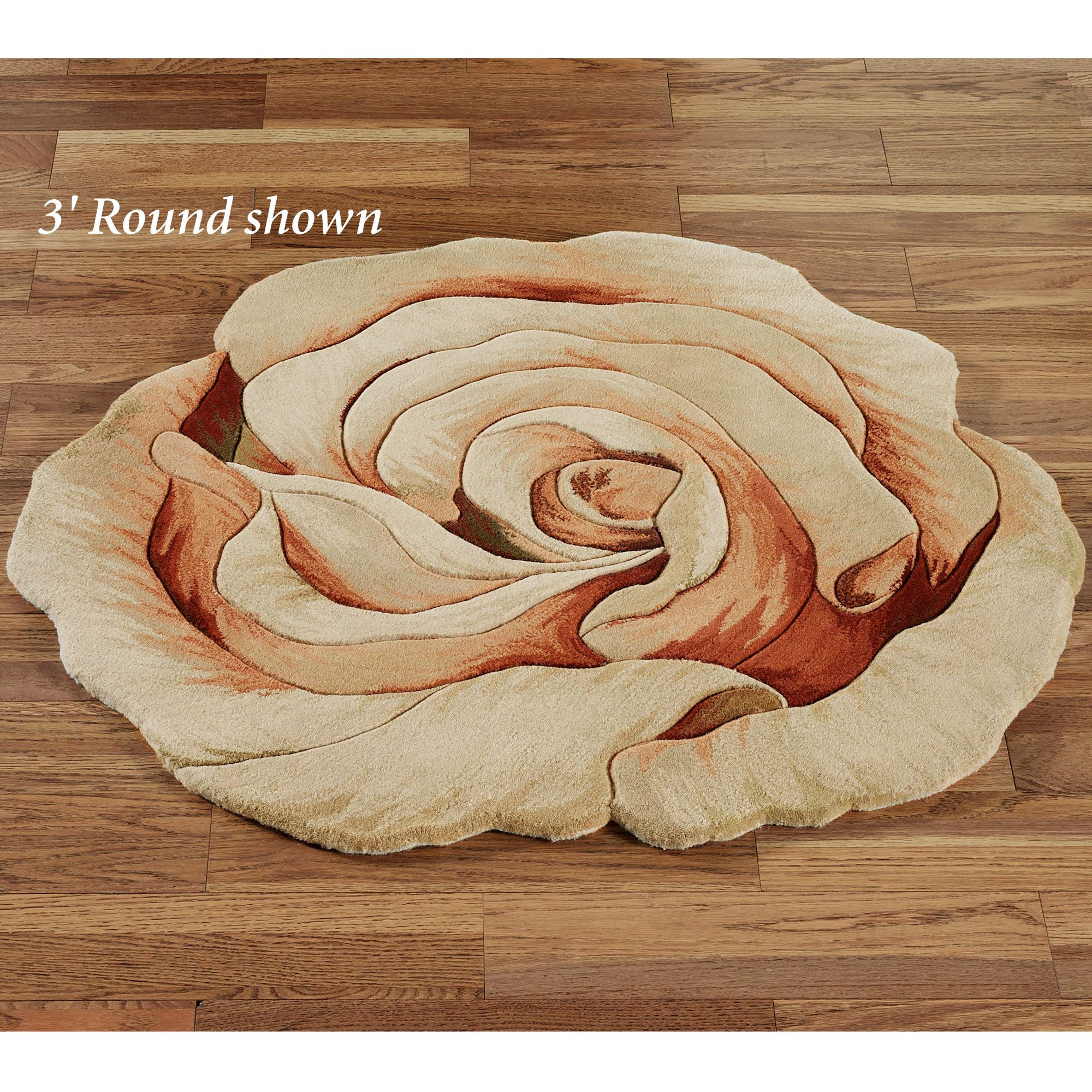 Uncategorized Rose Rug rosine cabbage rose flower area rug rug
