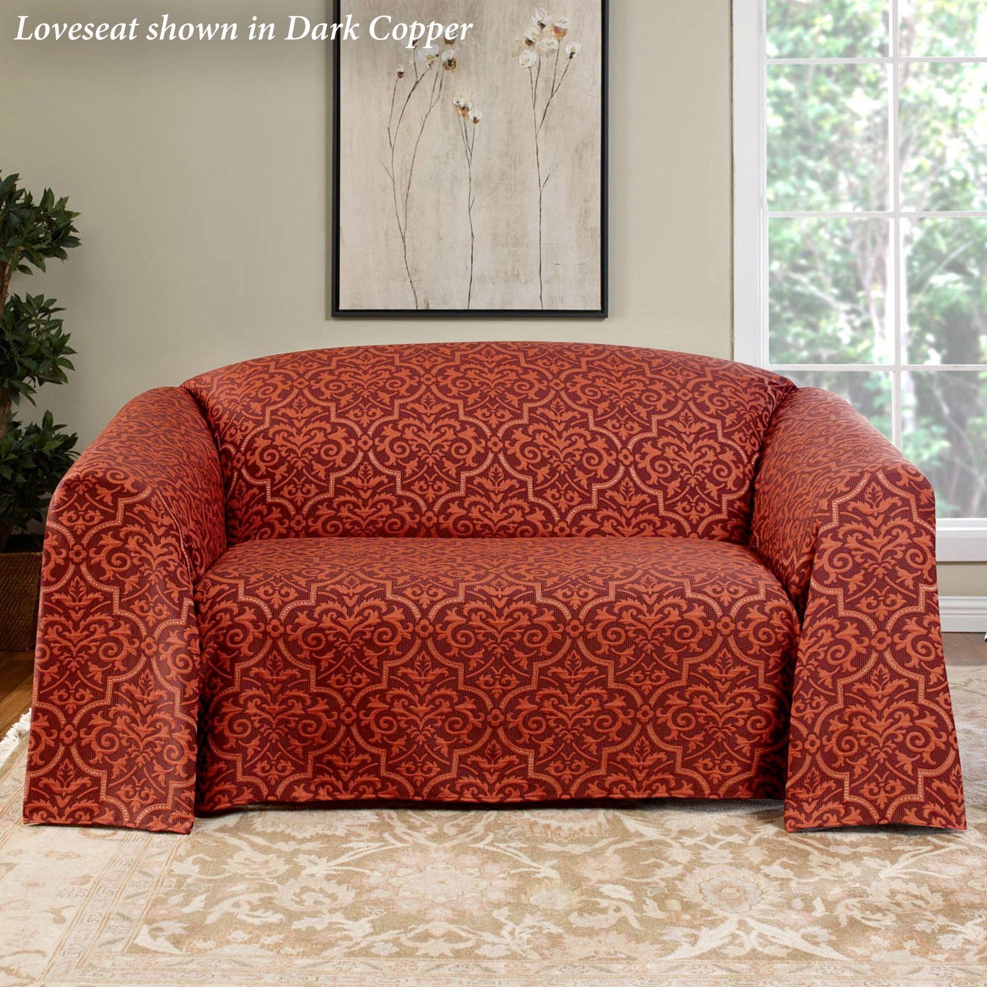 Kellan Medallion Drapable Furniture Cover