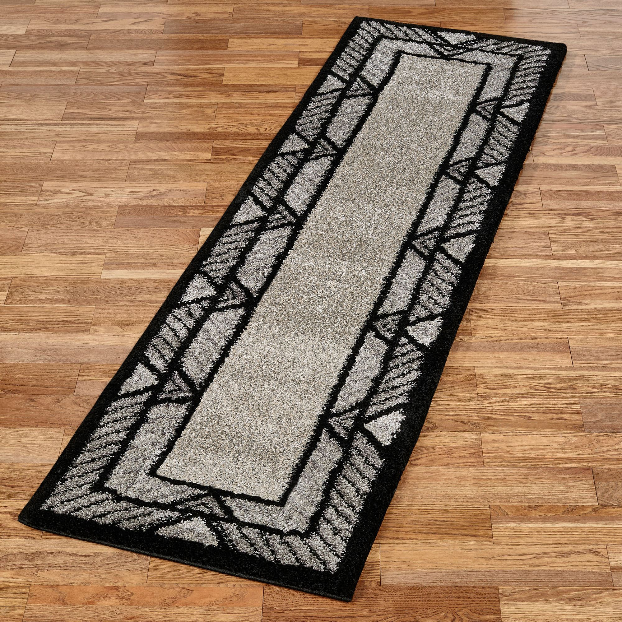 rug less for ideas bathroom overstockcom mats black example bath and white rugs complete