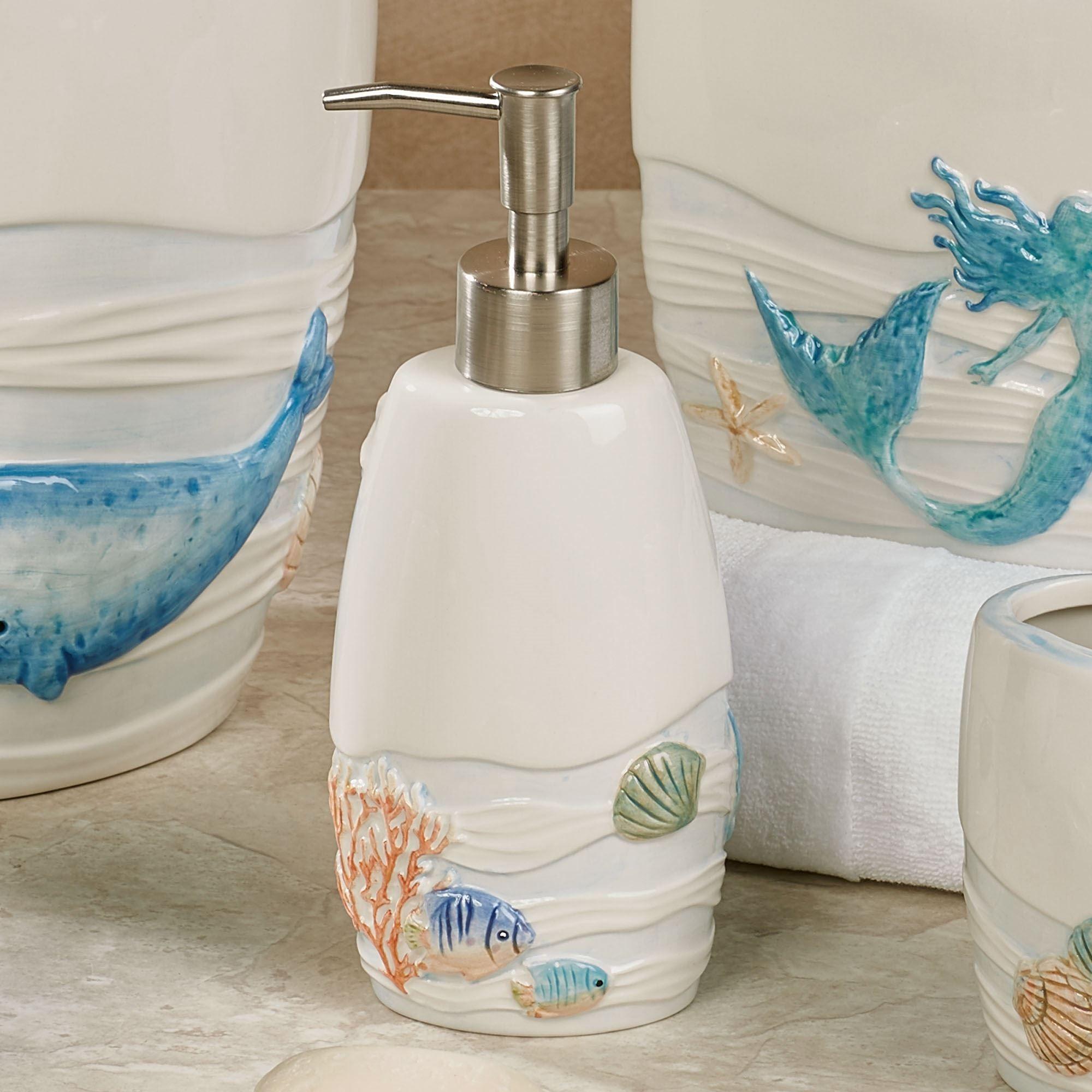 Sea Splash Ocean Themed Bath Accessories