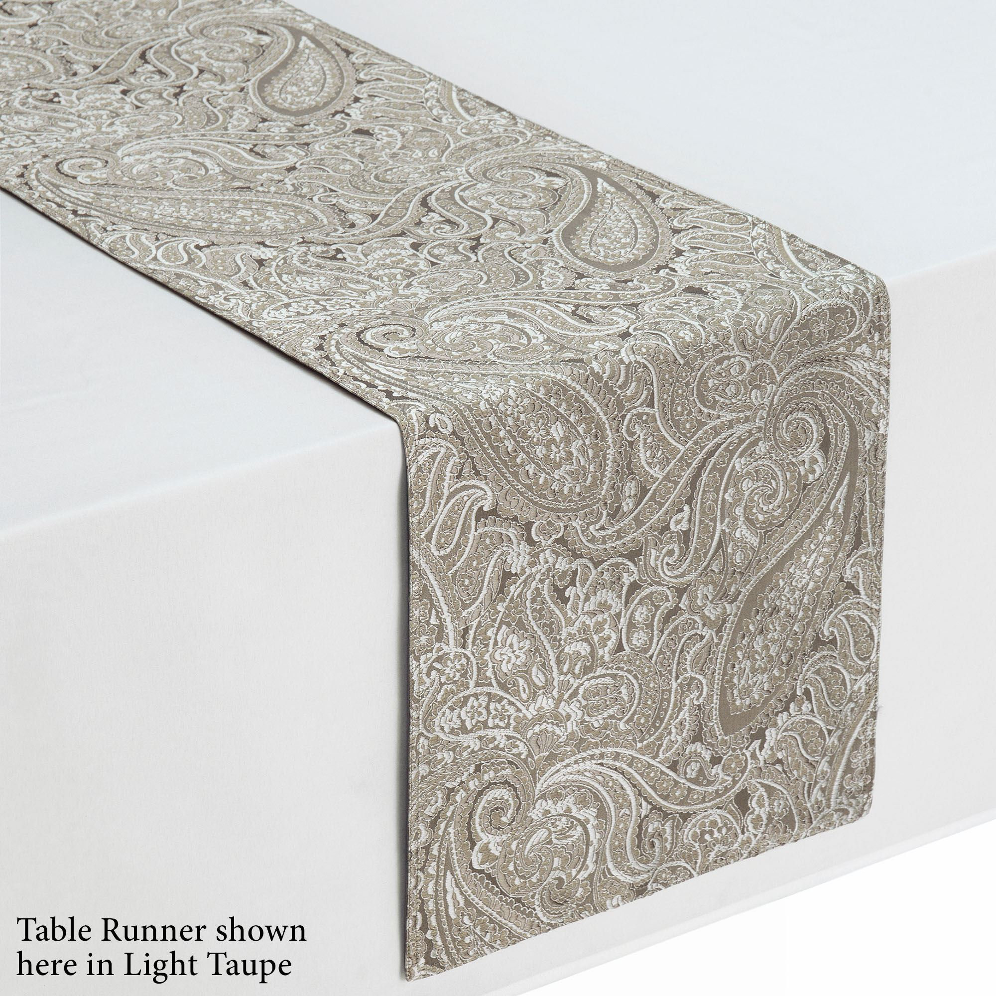 Esmerelda Jacquard Paisley Table Linens From Waterford Linens