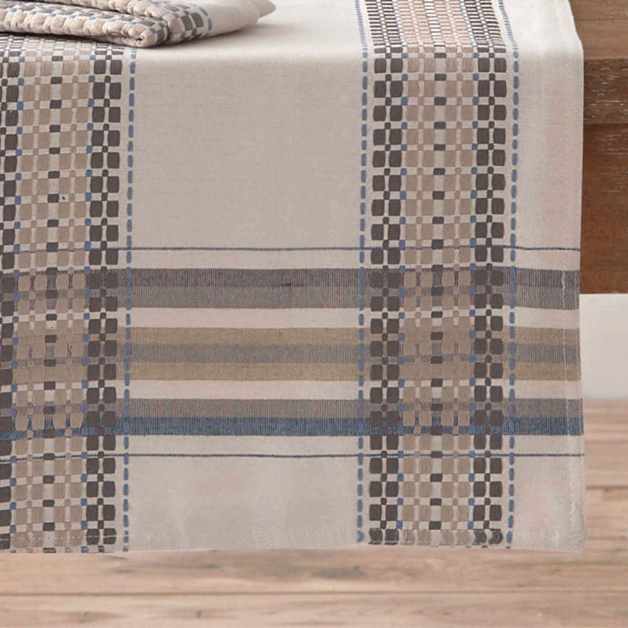 French Picnic Table Runner Natural