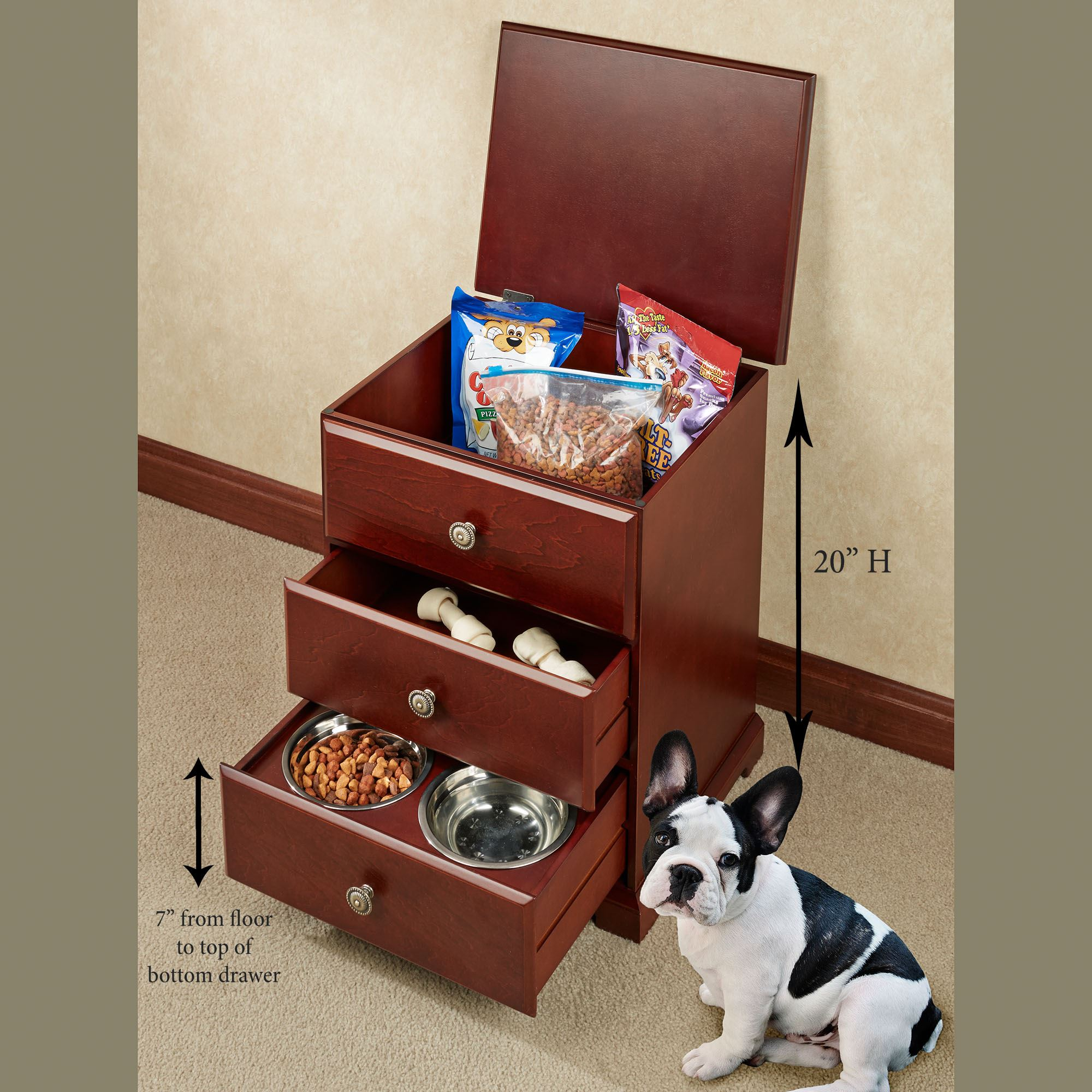 awesome dog cat kitchen keeping container implements pet standing stylish bin richell free cabinet cabinets food storage