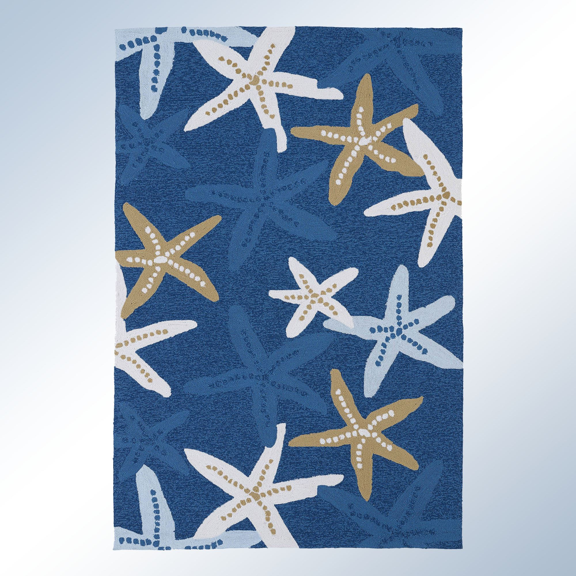 Matira Indoor Outdoor Starfish Rugs