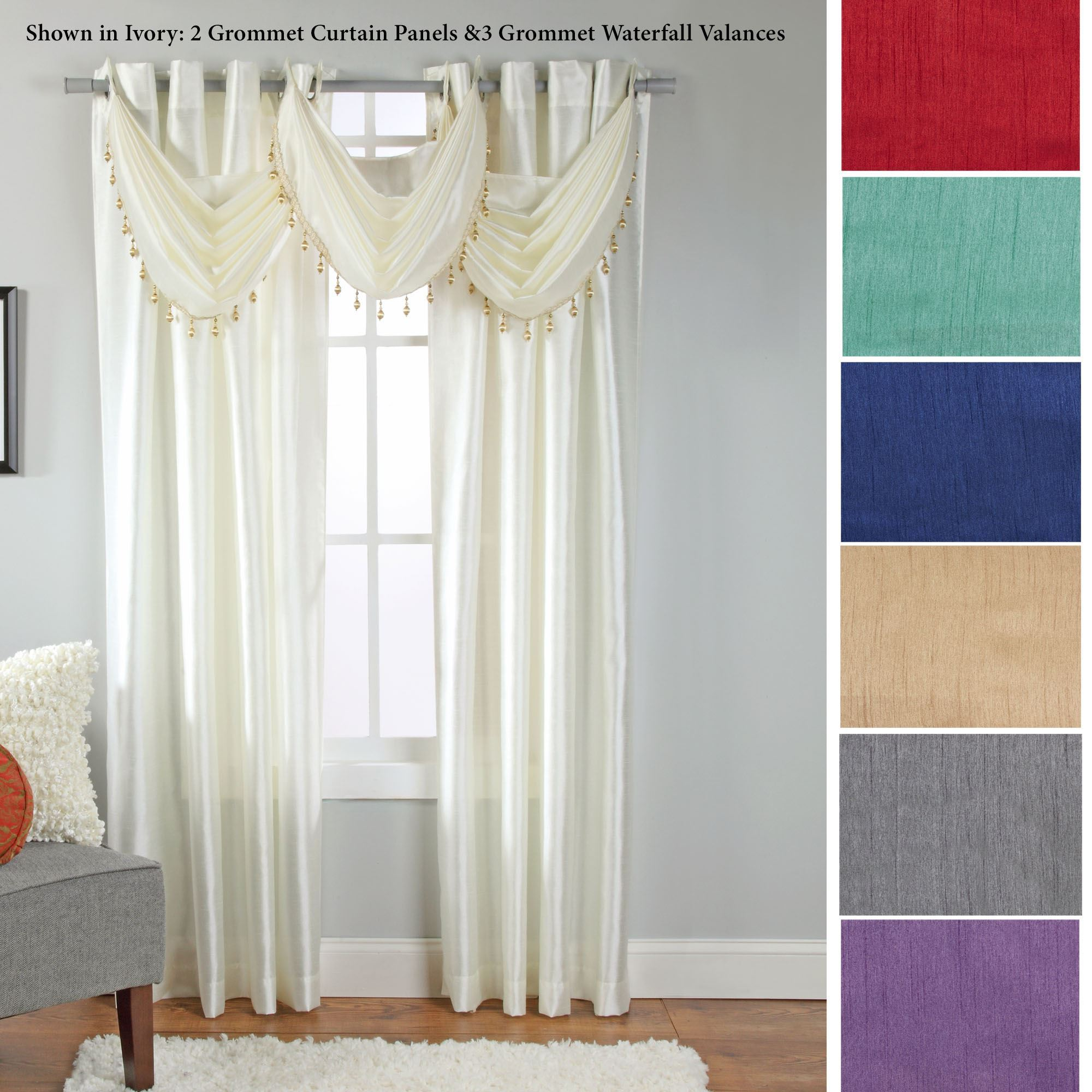 Rivington Grommet Window Treatment