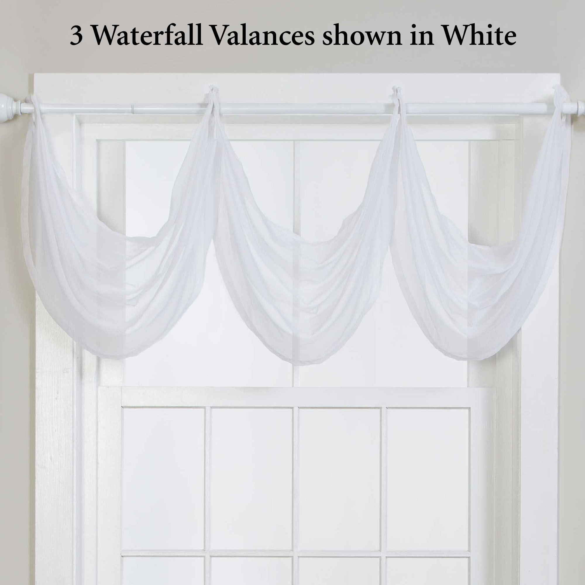 valances ready bathroom valance tier cafe panel itm kitchen sheer made curtain voile