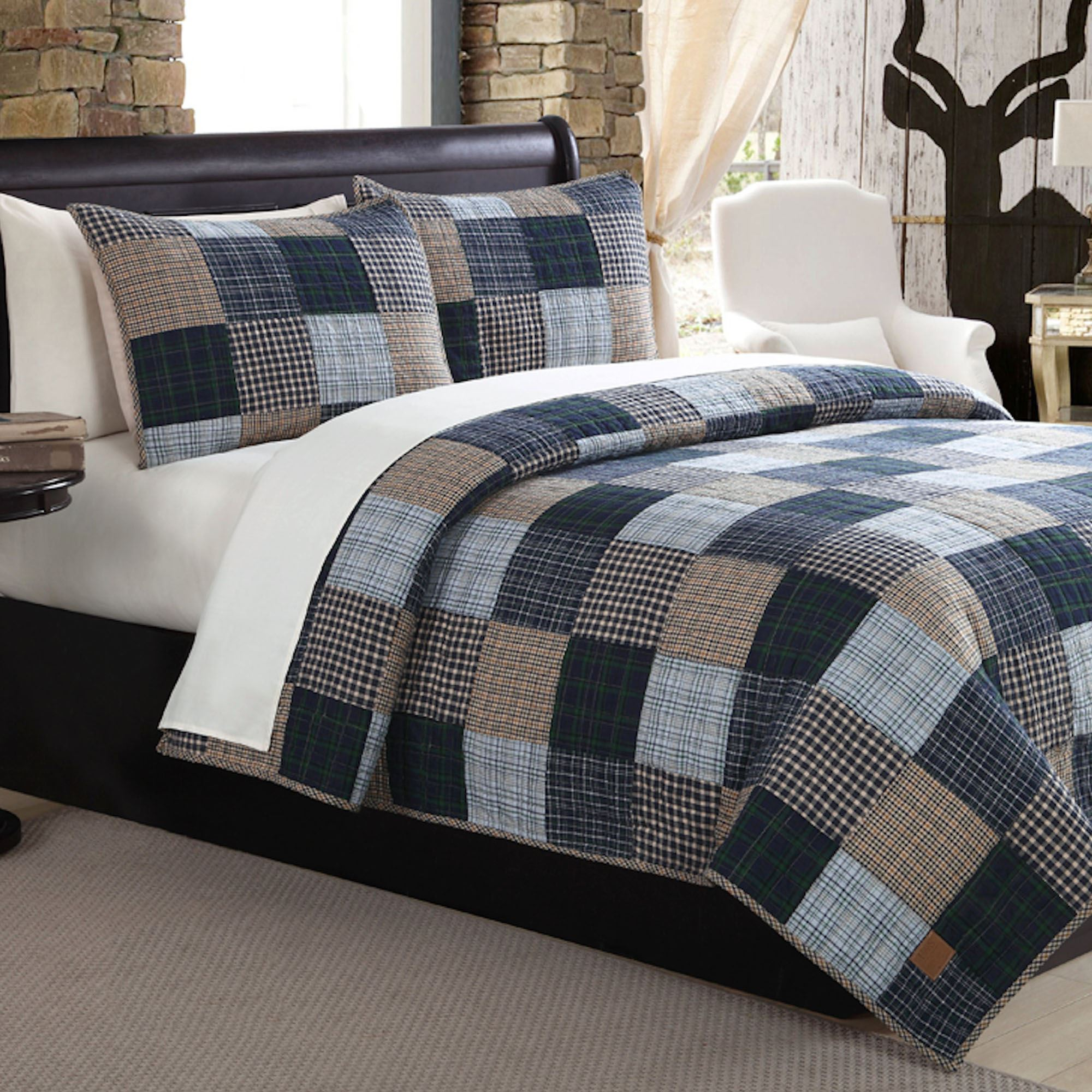 Ridgecrest Plaid Quilt Set : plaid comforters and quilts - Adamdwight.com
