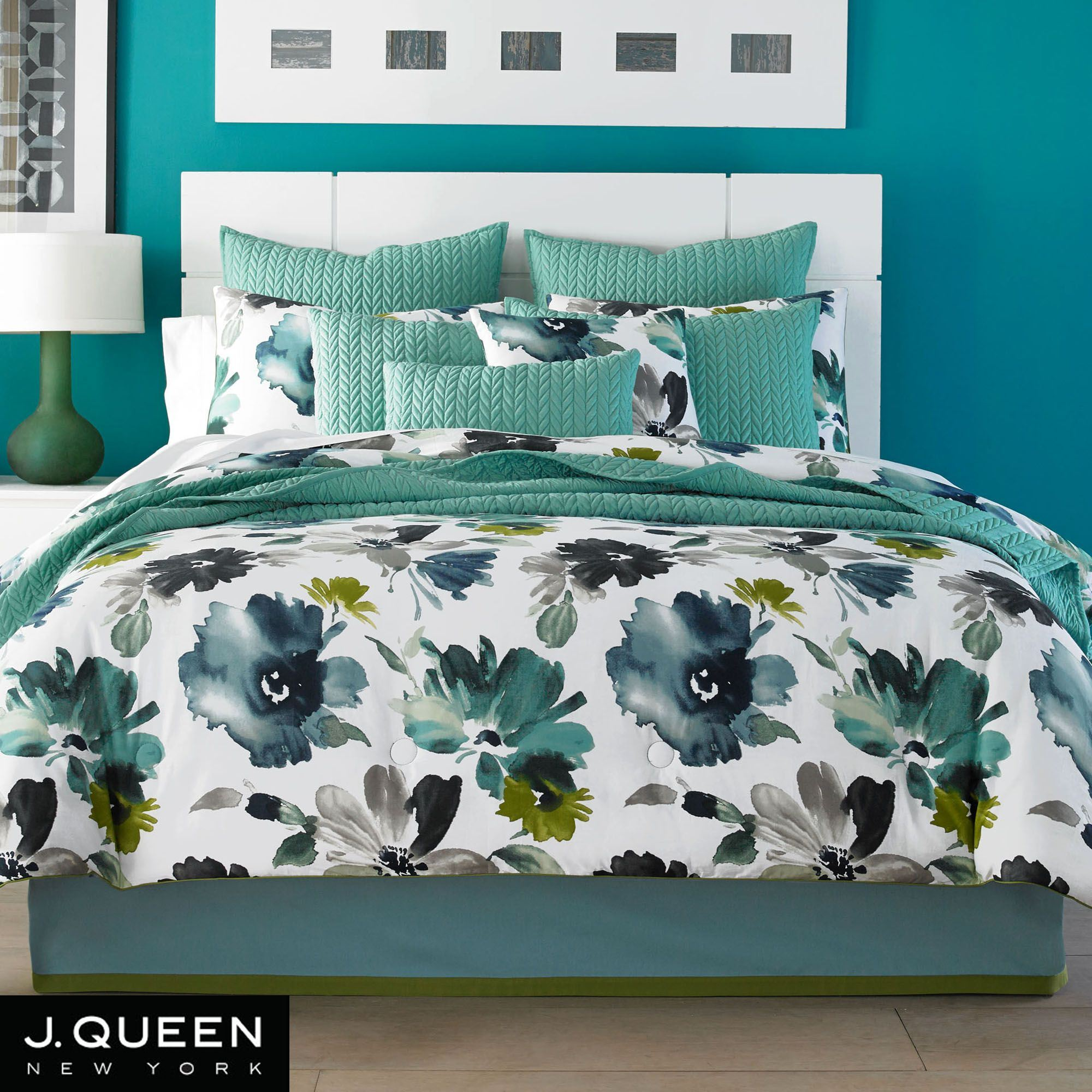 Midori Floral Comforter Bedding From J By J Queen New York