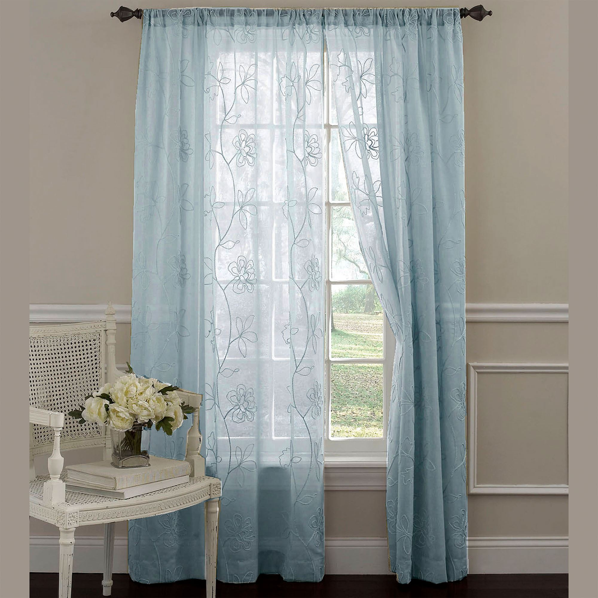 suntex and by panel drapes sheer curtains gossamer embroidered curtain window