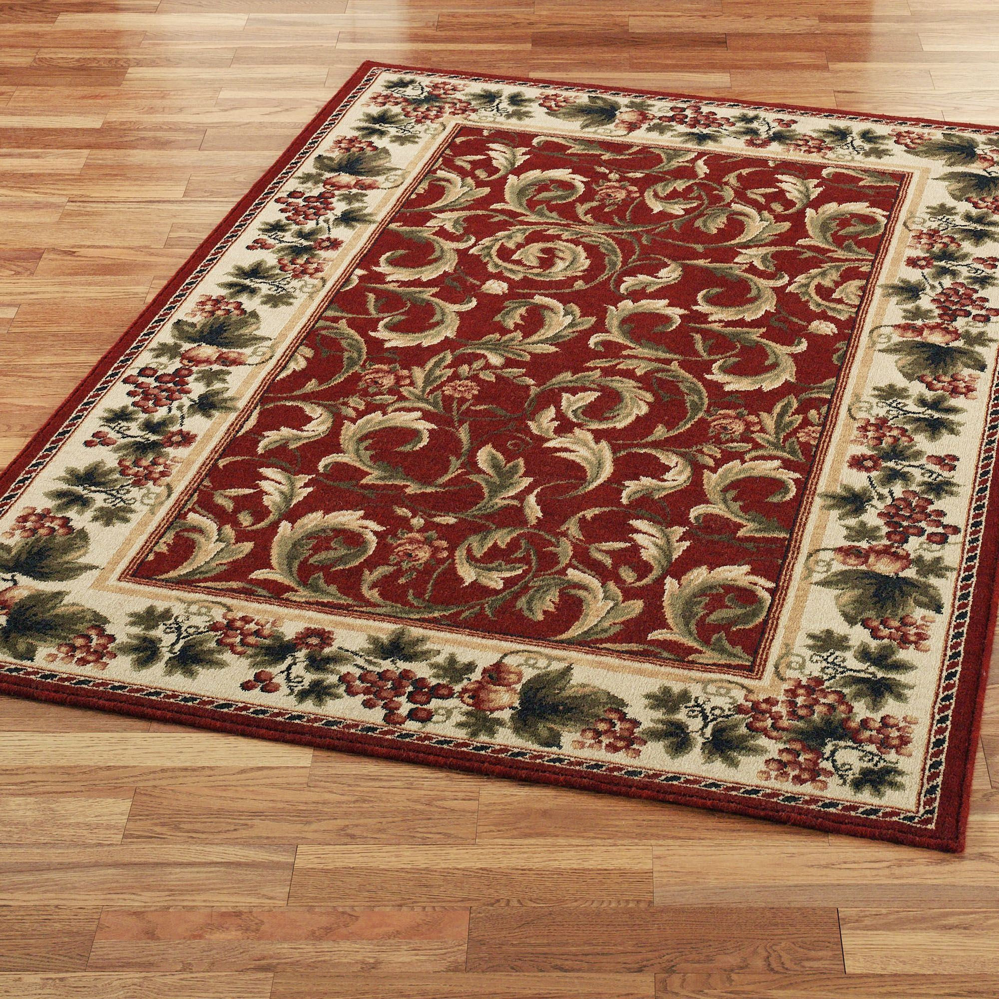 inspiration grapes and acanthus area rugs Area Rug Inspiration