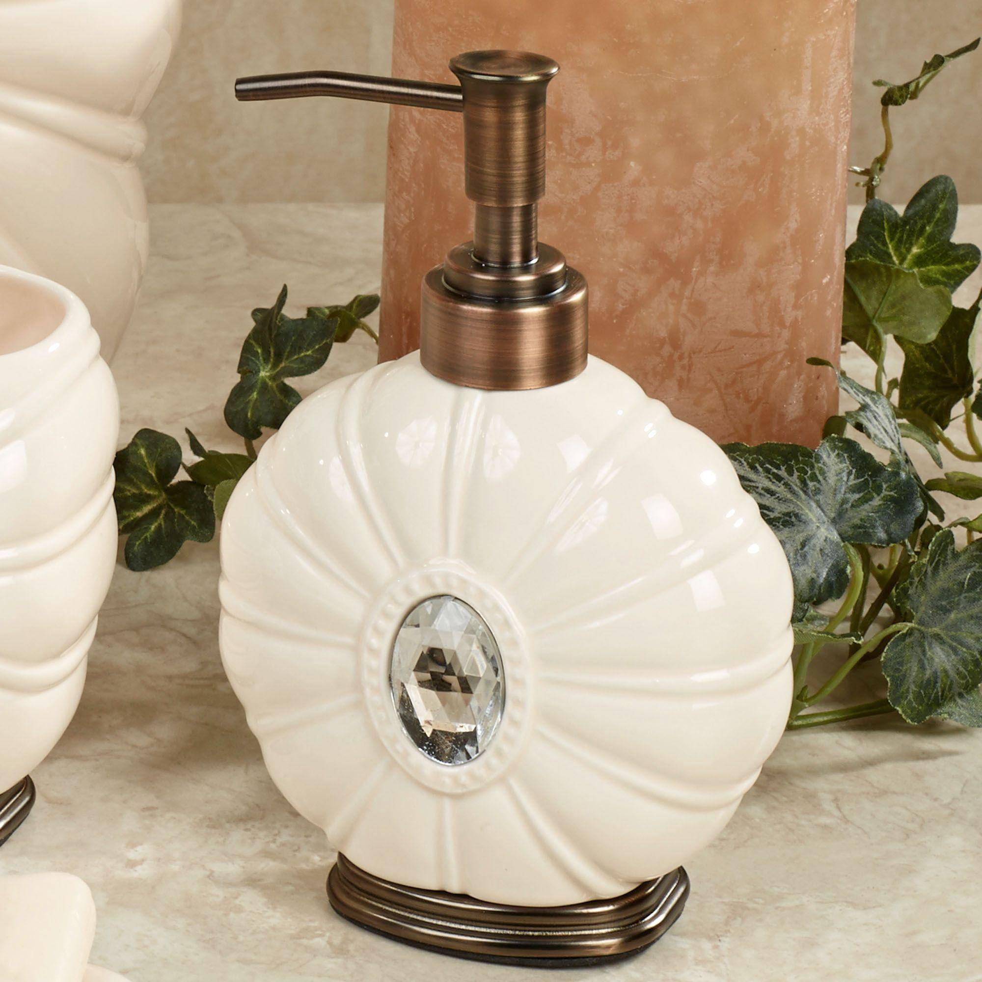 Beautiful Jemma Lotion Soap Dispenser Beige