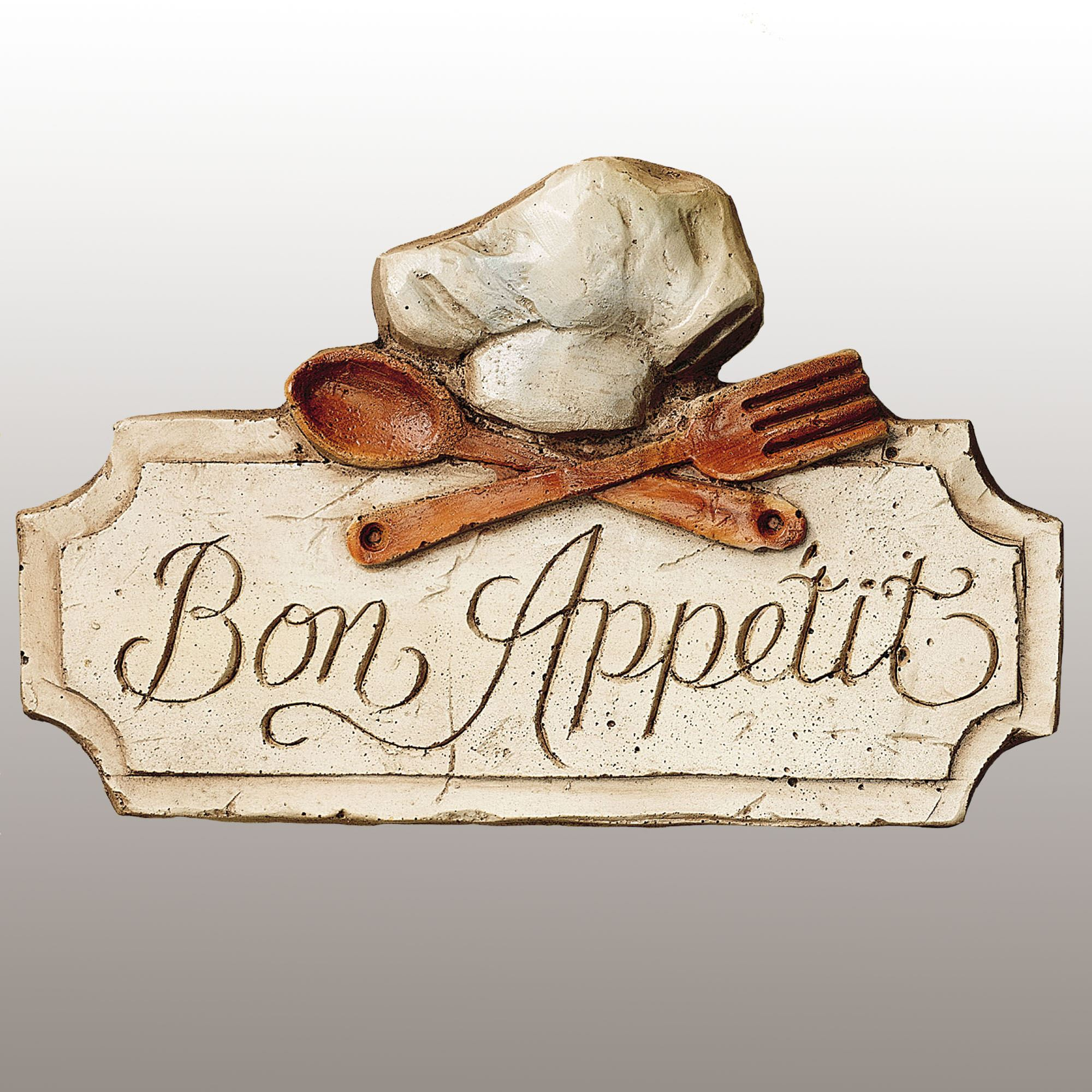 Merveilleux Bon Appetit Kitchen Wall Plaque. Touch To Zoom