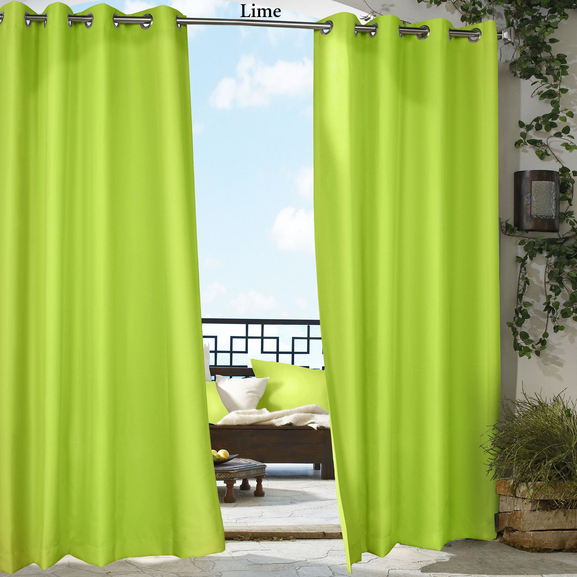 patio studentsserve outdoor curtain for inch panels org