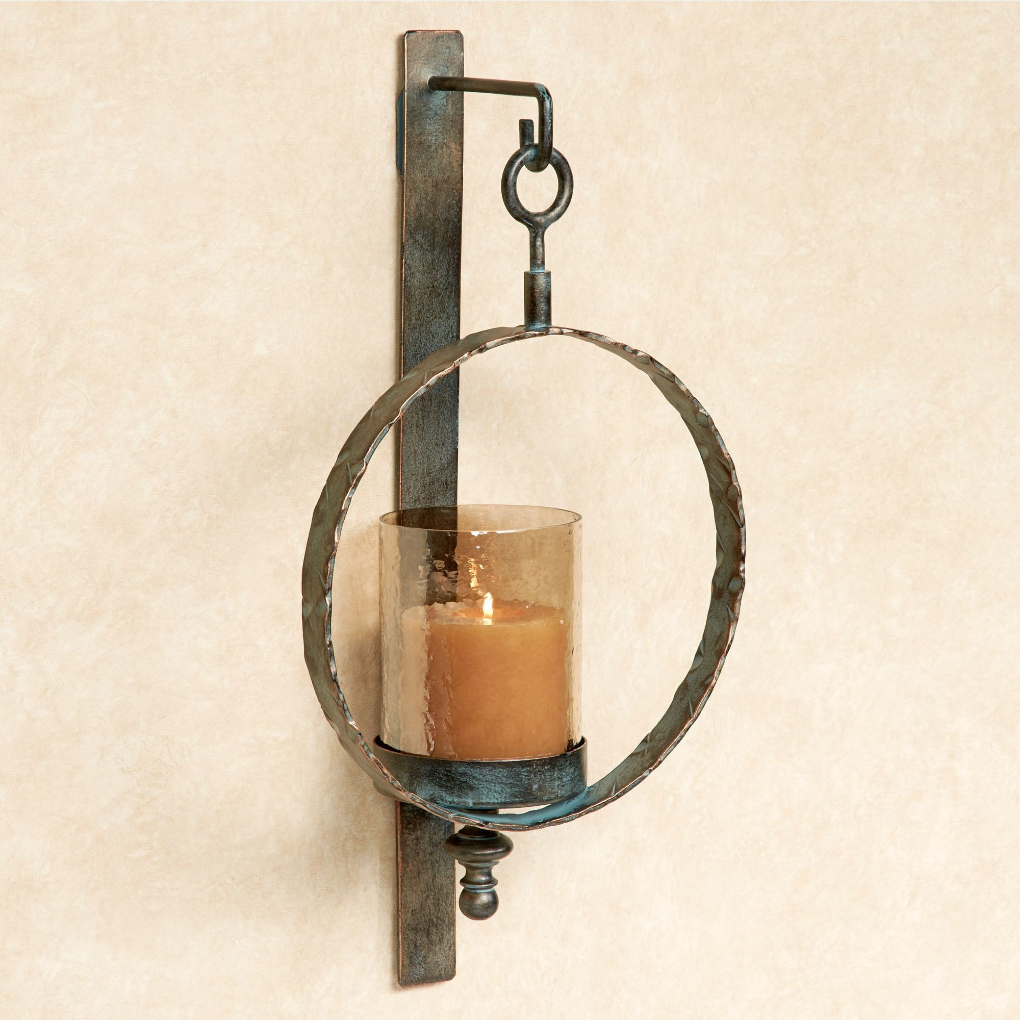 Acadiah Wall Sconce Aged Copper Touch To Zoom