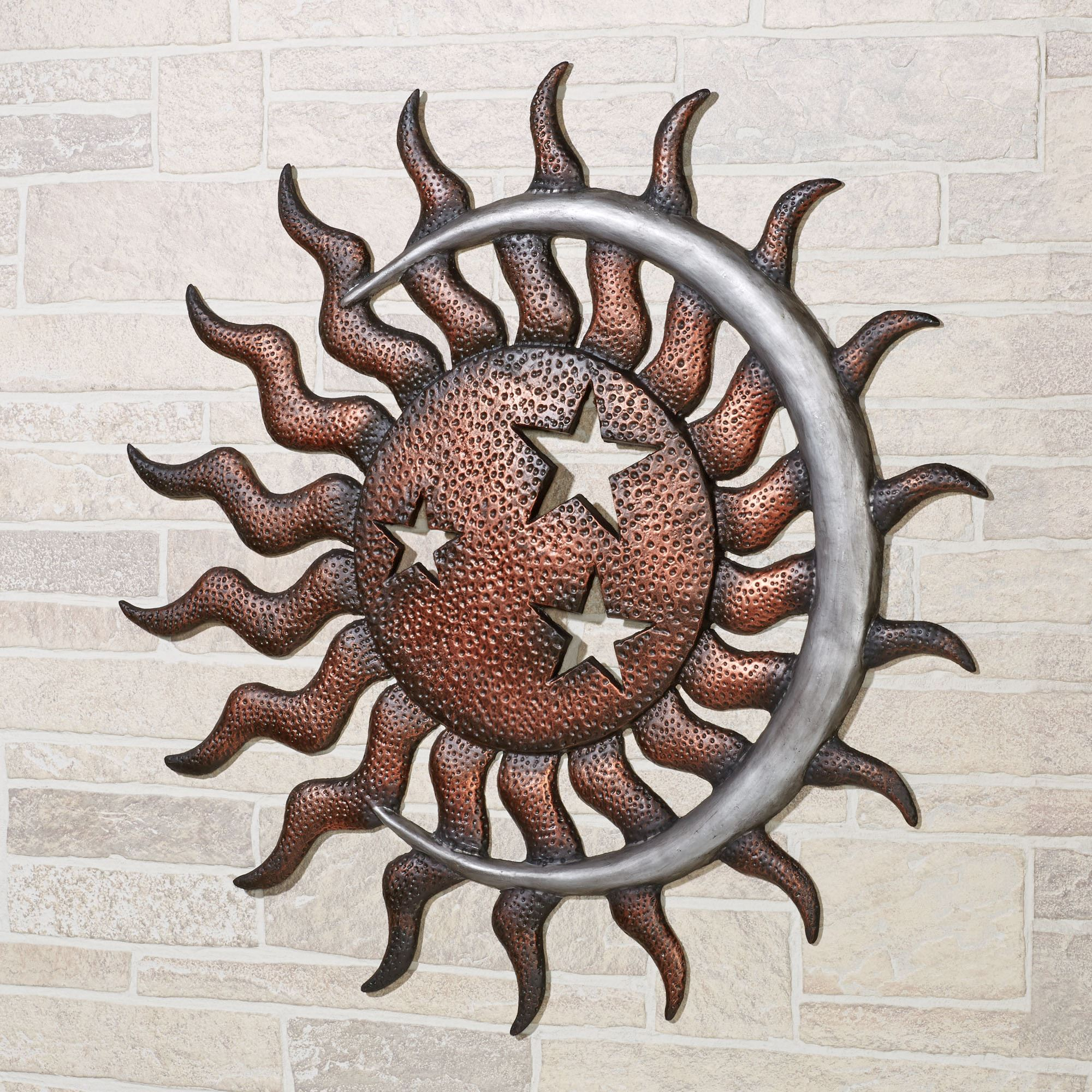 ... Outdoor Metal Wall Art. Moon Dance Wall Art Multi Metallic. Click To  Expand