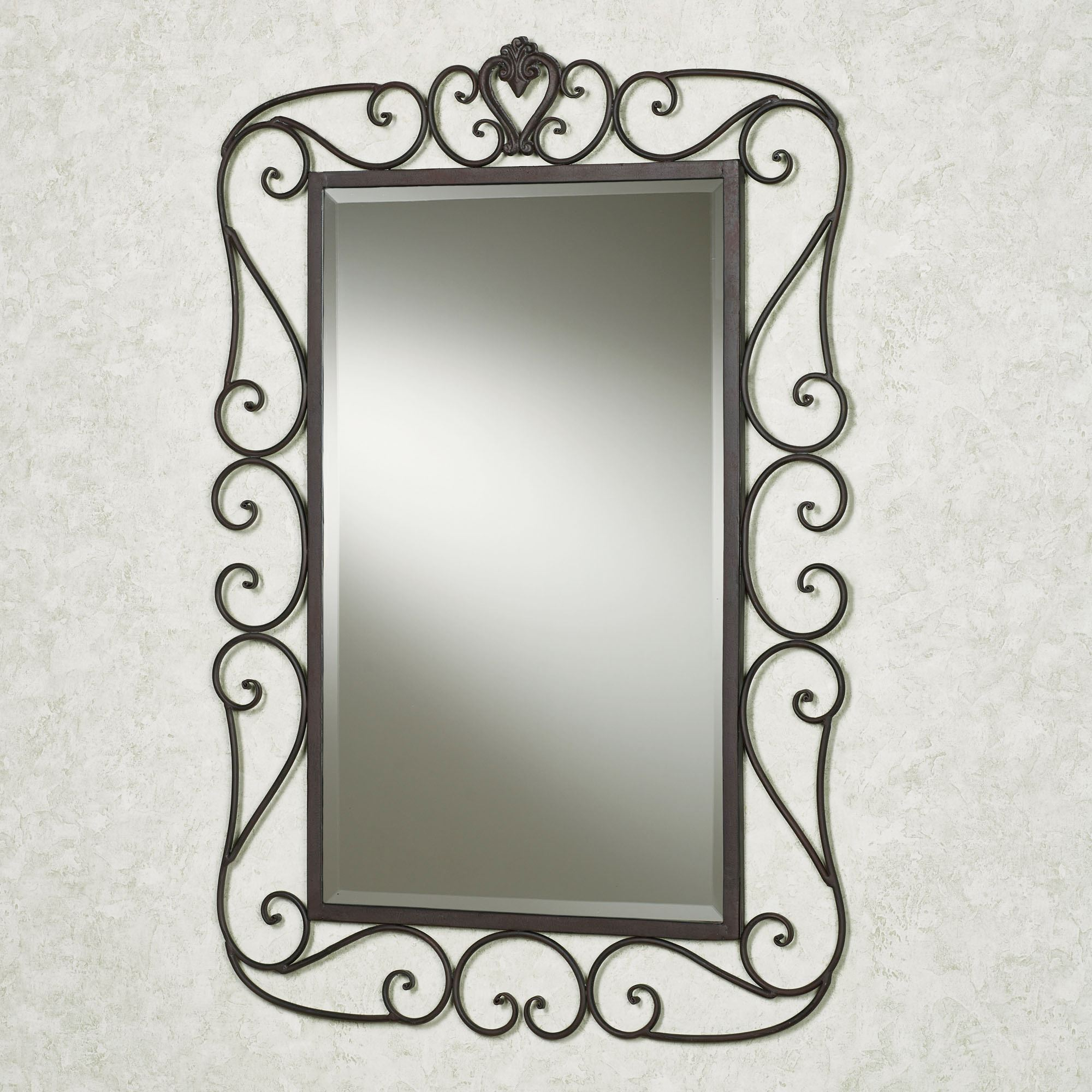 Rectangle wall mirrors aldabella wall mirror tuscan slate amipublicfo Gallery