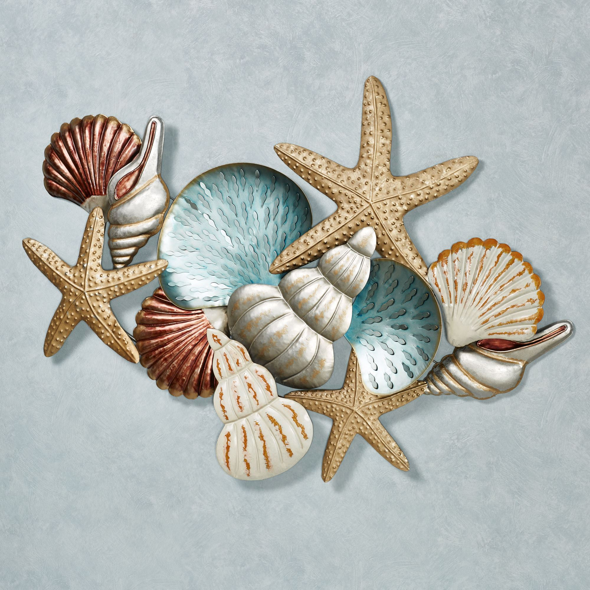 Ocean Collage Metal Wall Art
