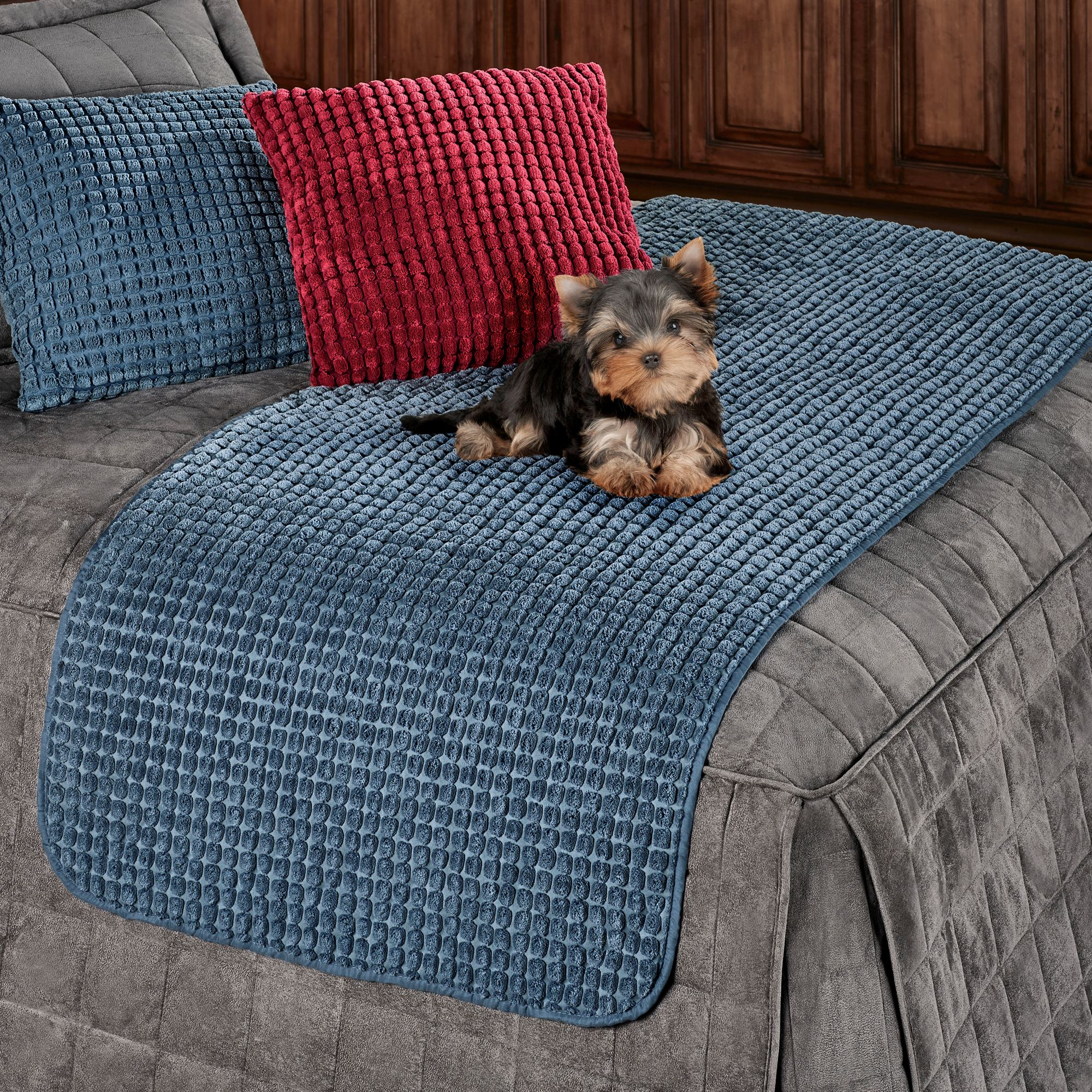 Premier Puff Snag Resistant Bed Protector For Pets