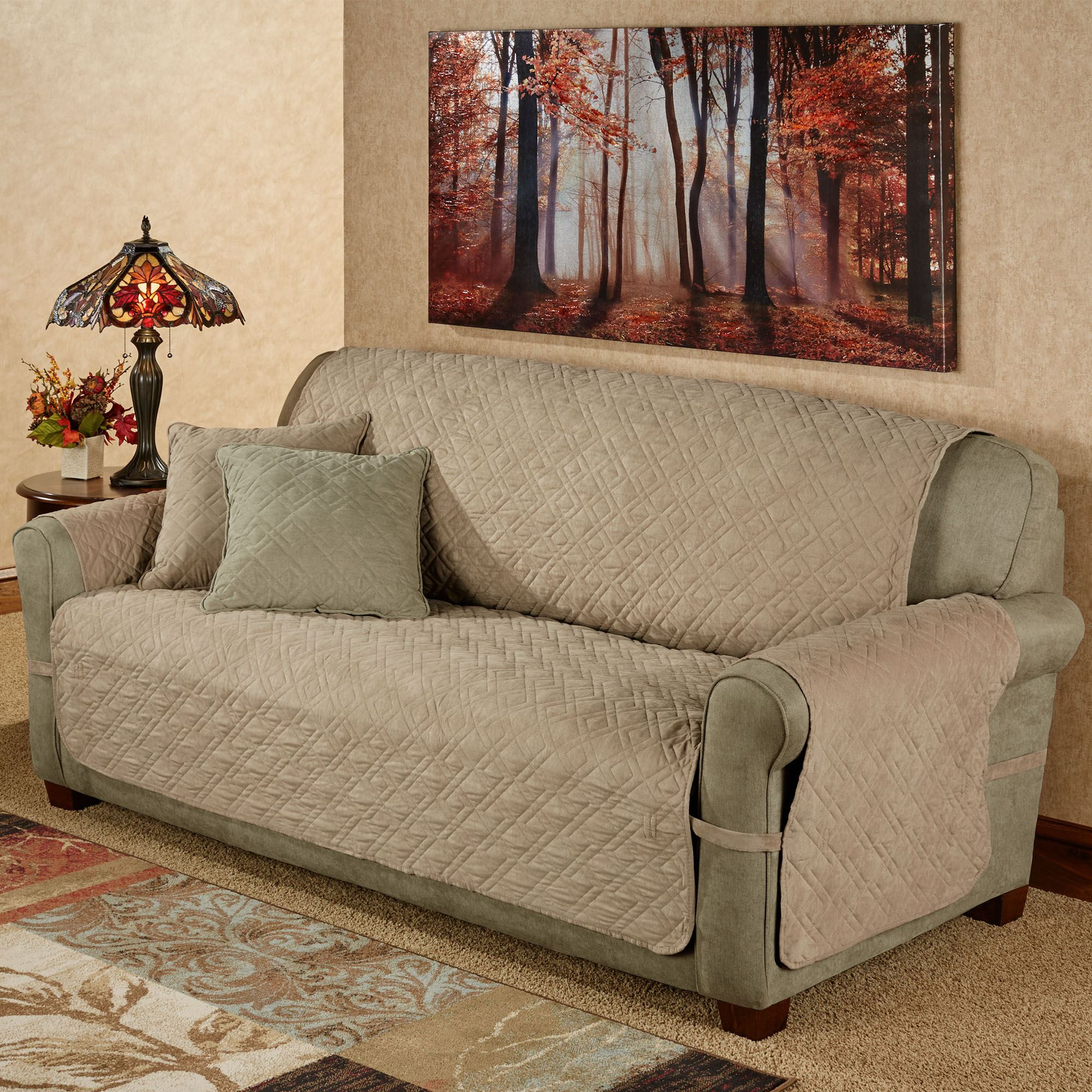 Mason Quilted Ultimate Sofa And Loveseat Furniture Protectors