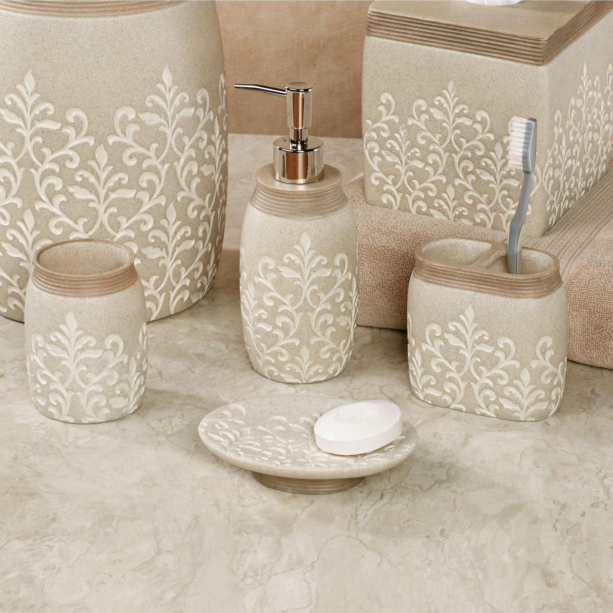 rhinestone bathroom accessories. Click to expand Verbena Bath Accessories by Veratex