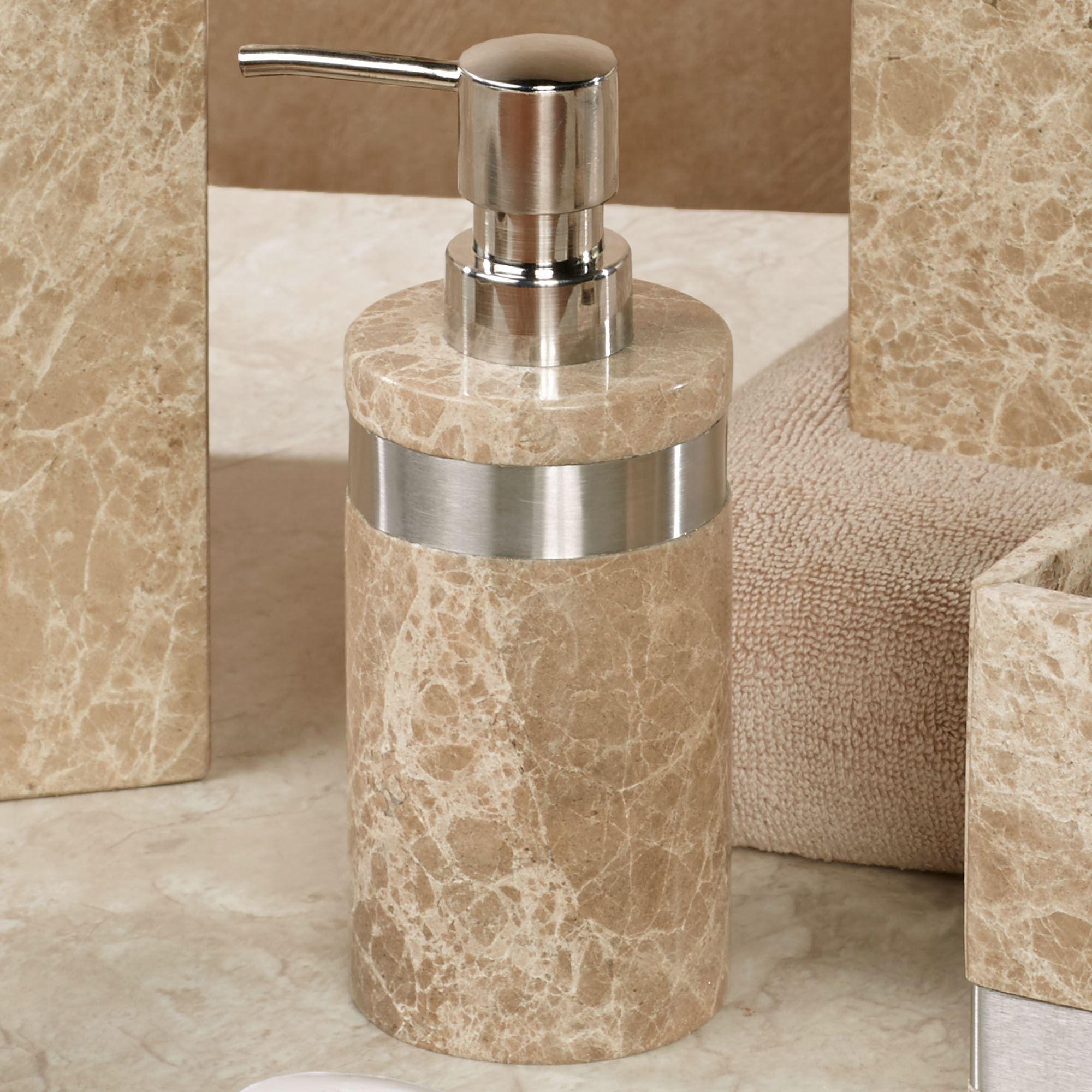 Marbella Marble Bath Accessories