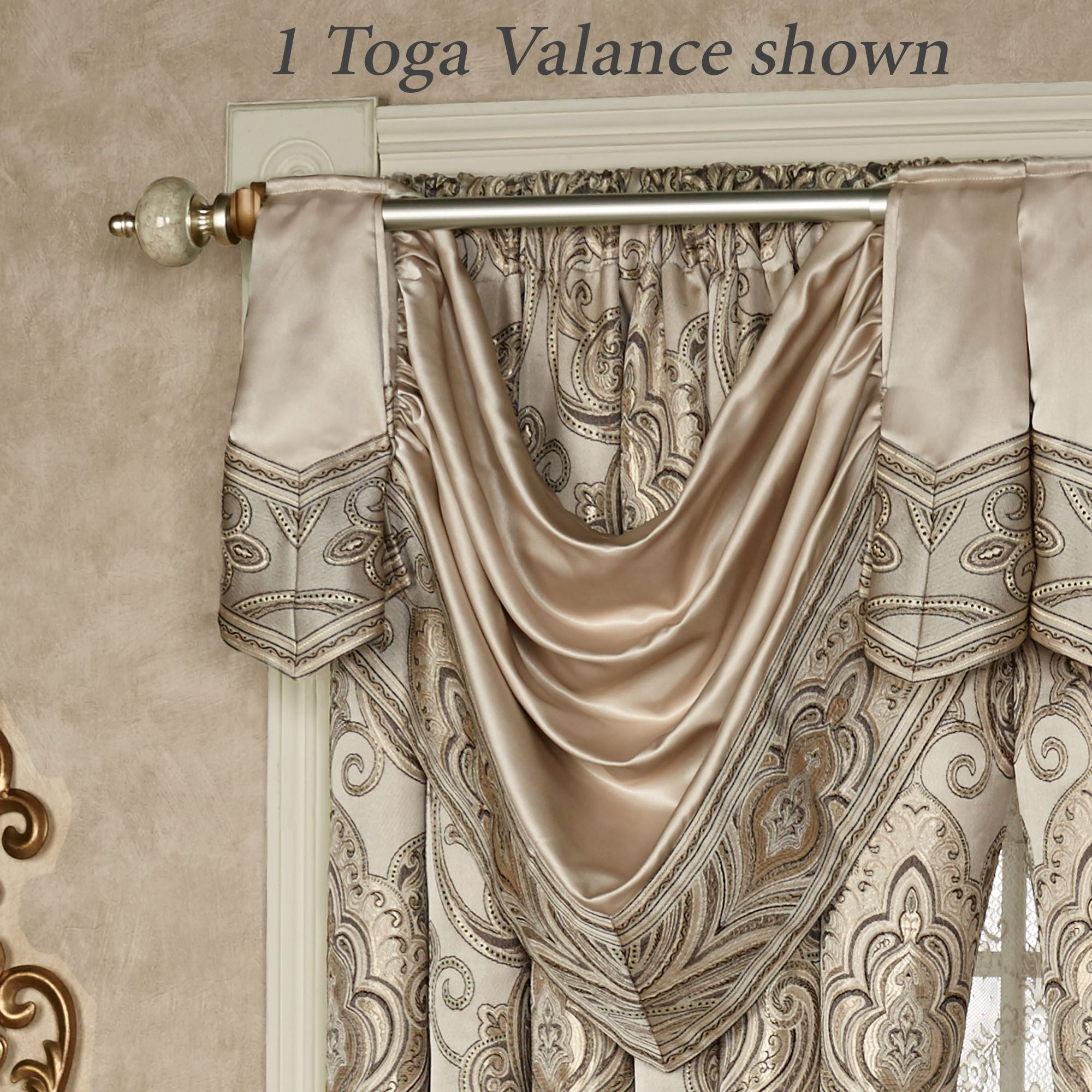 valance bee wayfair honey pdx beige curtain window sweet designs treatments reviews jojo