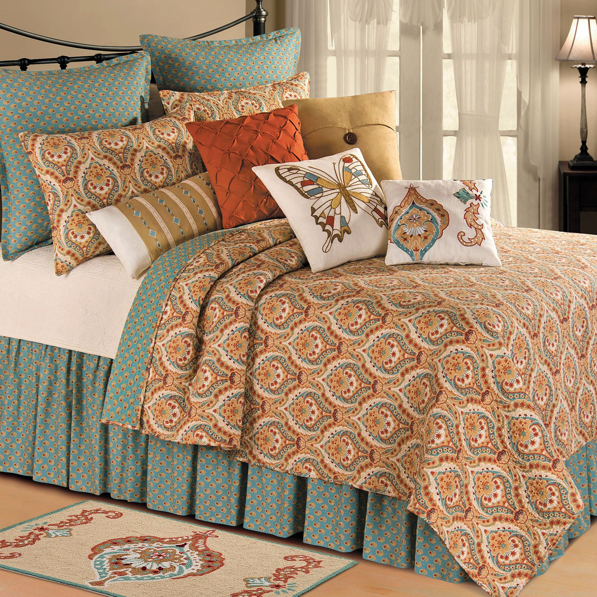 today sale quilt shipping bath azalea cover nights free set skye overstock on product bedding moroccan duvet
