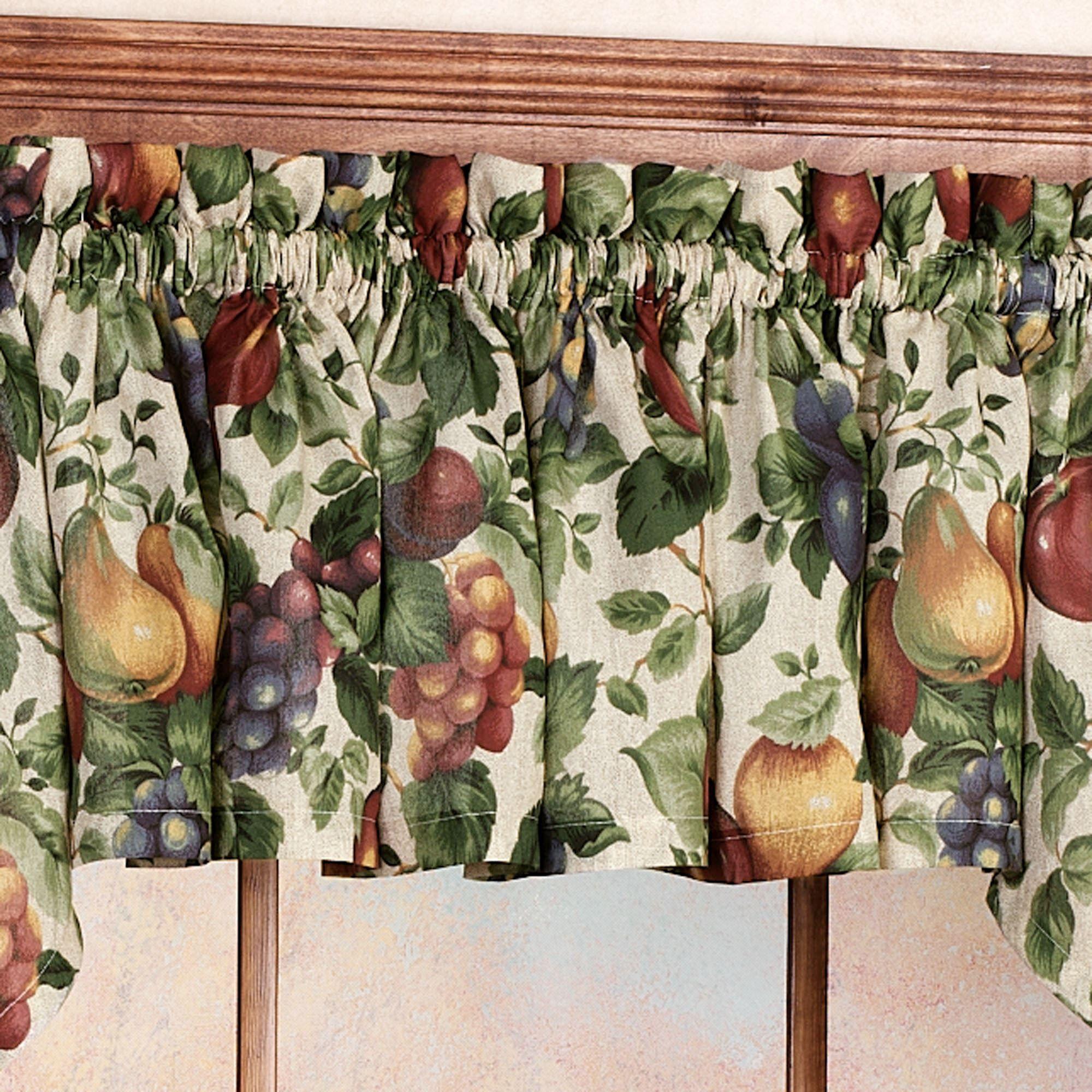 Sonoma Fruit Tier Window Treatments