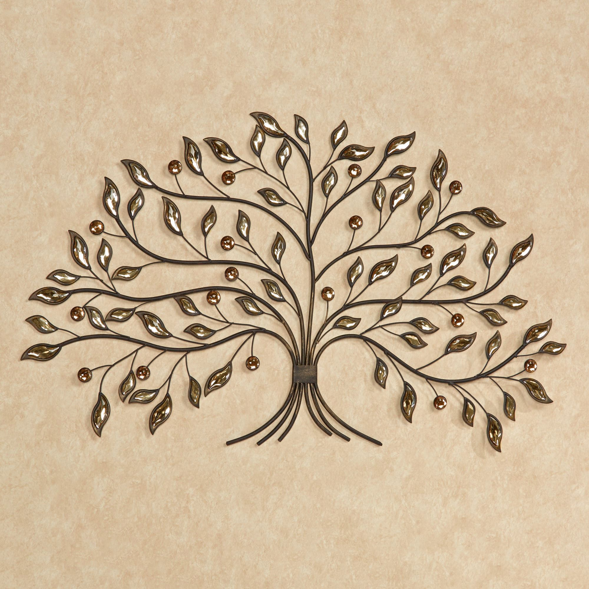 Alexandra Vining Tree Metal Wall Art Brown. Click To Expand
