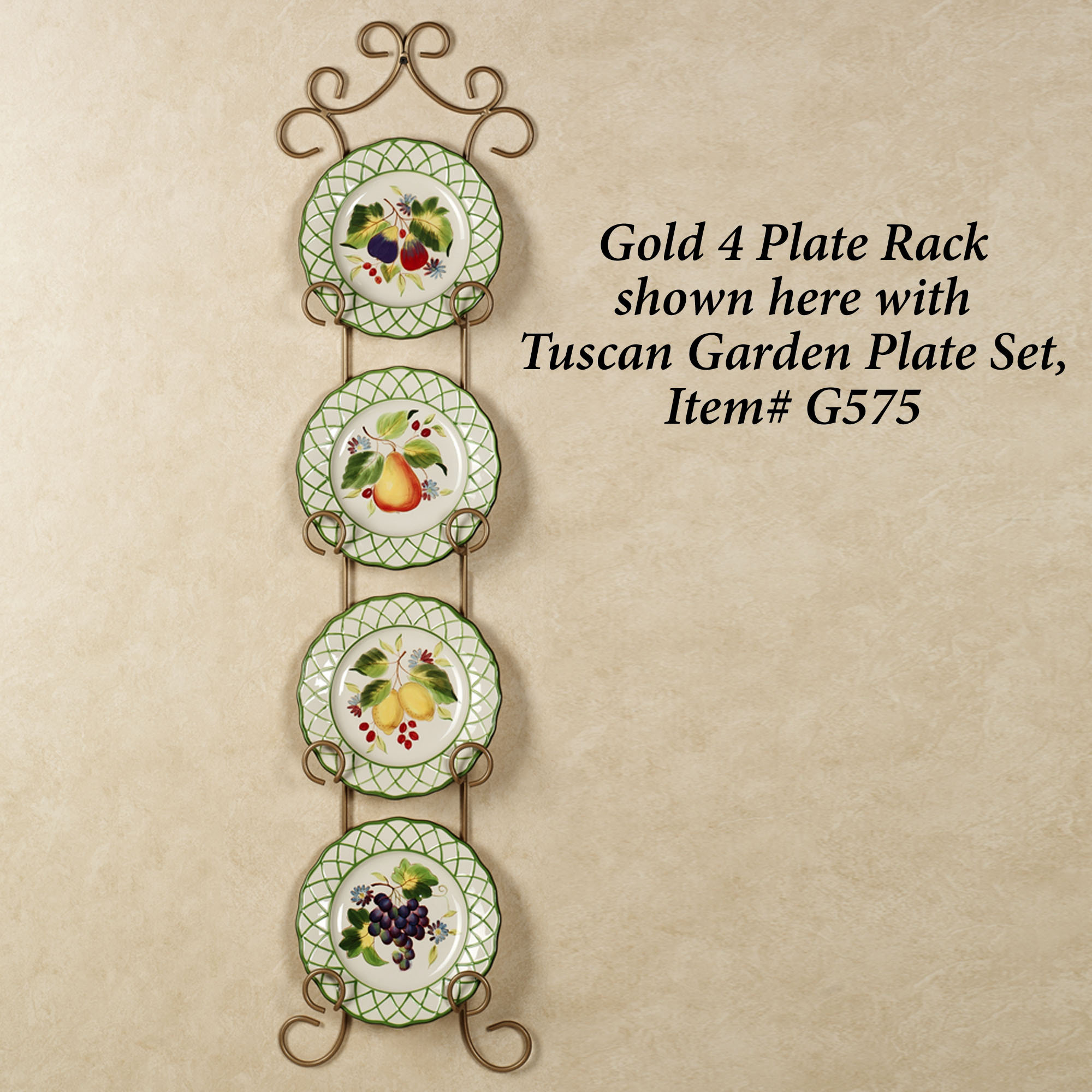 Regal Decorative Plate Display Rack
