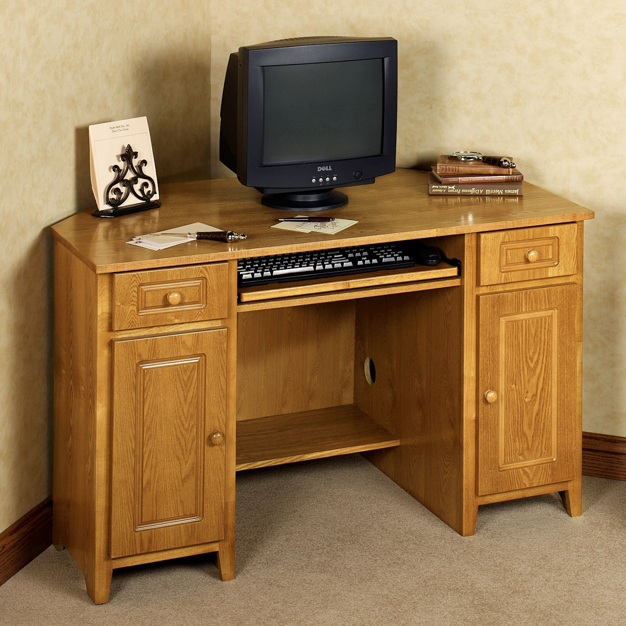 Aaron Corner Desk Home Office Furniture Touch To Zoom