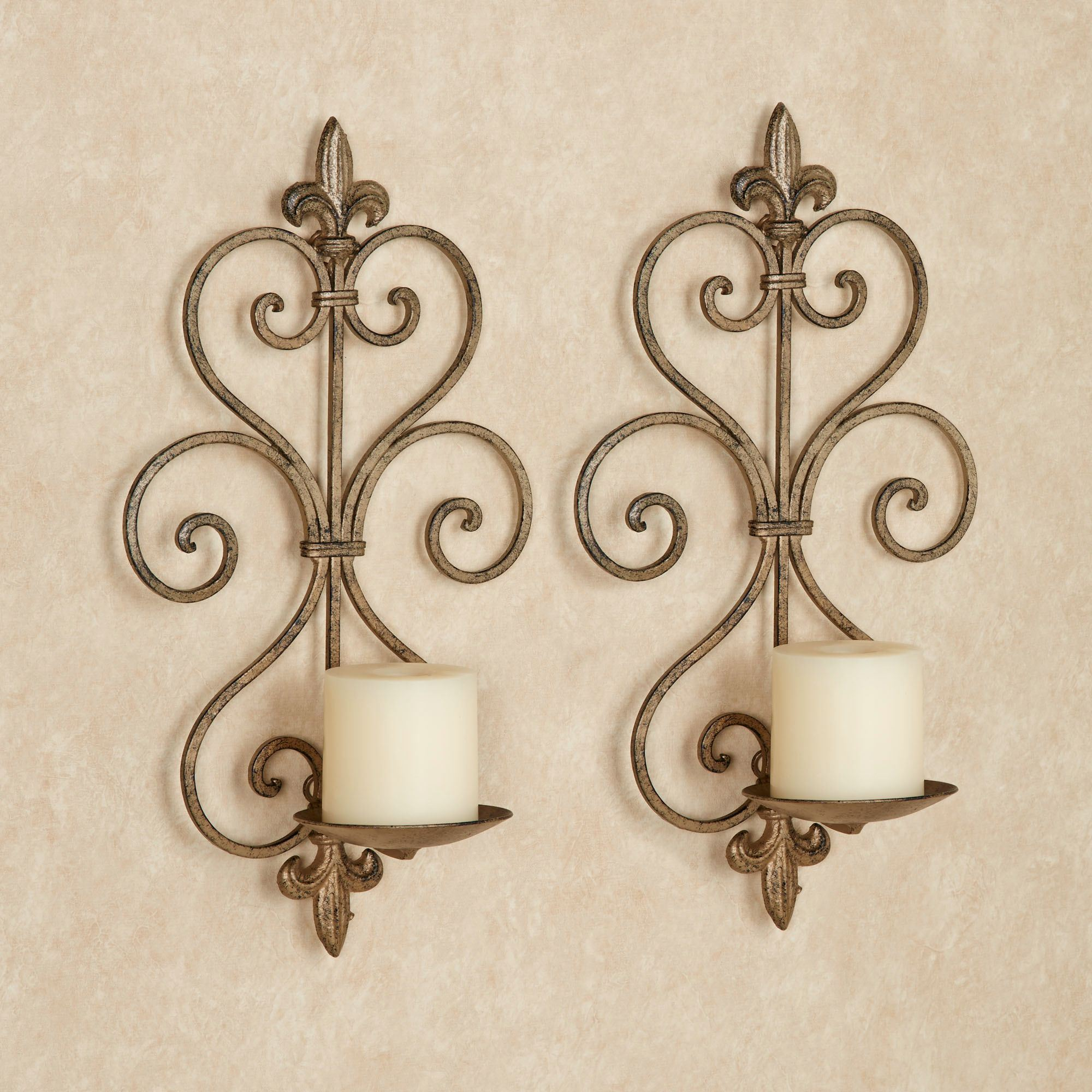 brushed sconce delectable wall images candles iron silver jefney decor wrought decoration ebay sconces enchanting design of candle foter