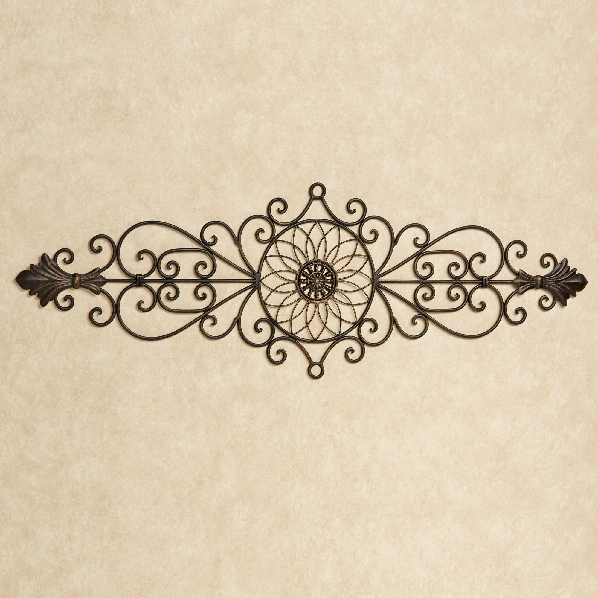 Wrought Iron Wall Scrolls Wall Grilles  Touch Of Class